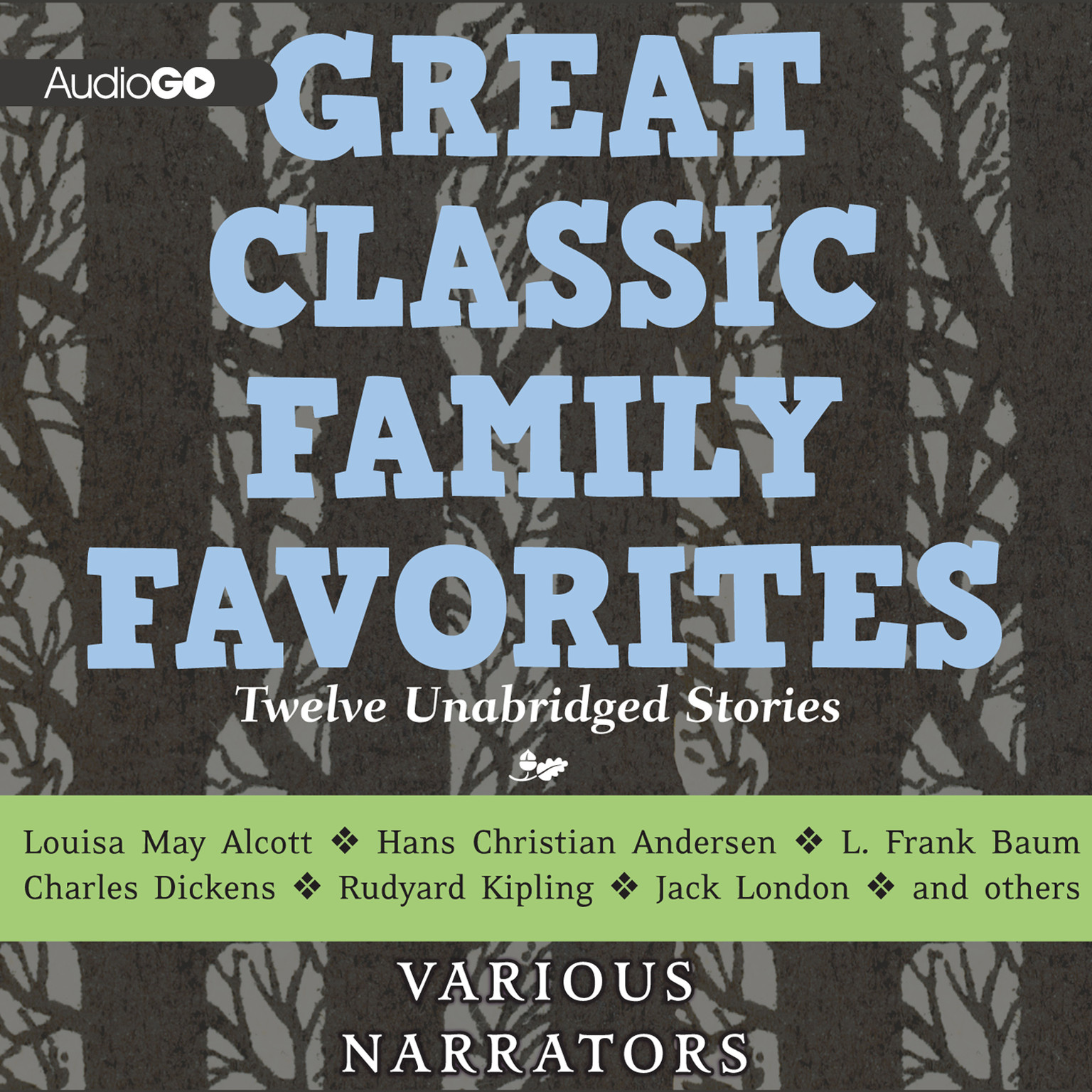 Printable Great Classic Family Favorites Audiobook Cover Art