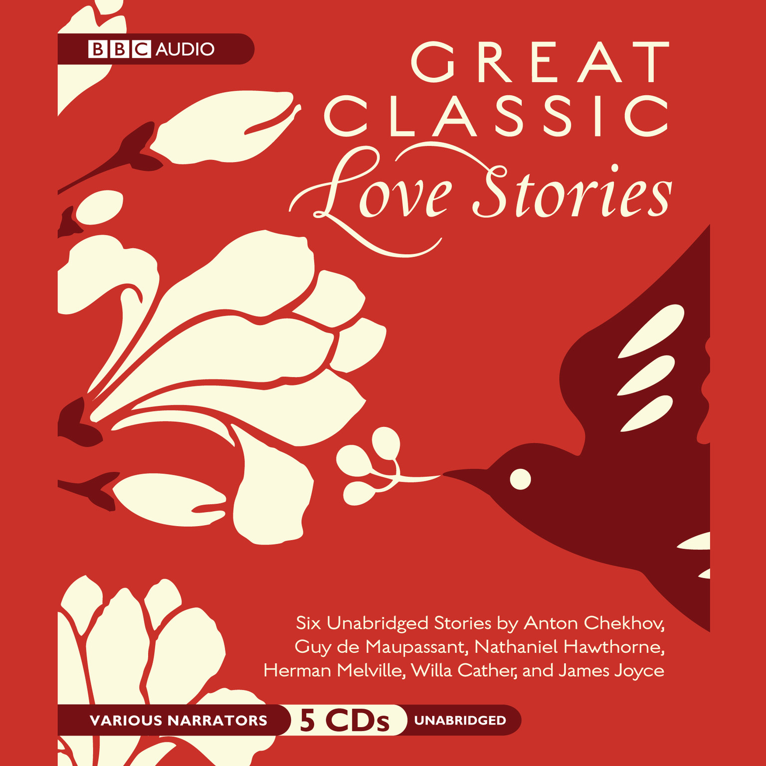 Printable Great Classic Love Stories Audiobook Cover Art