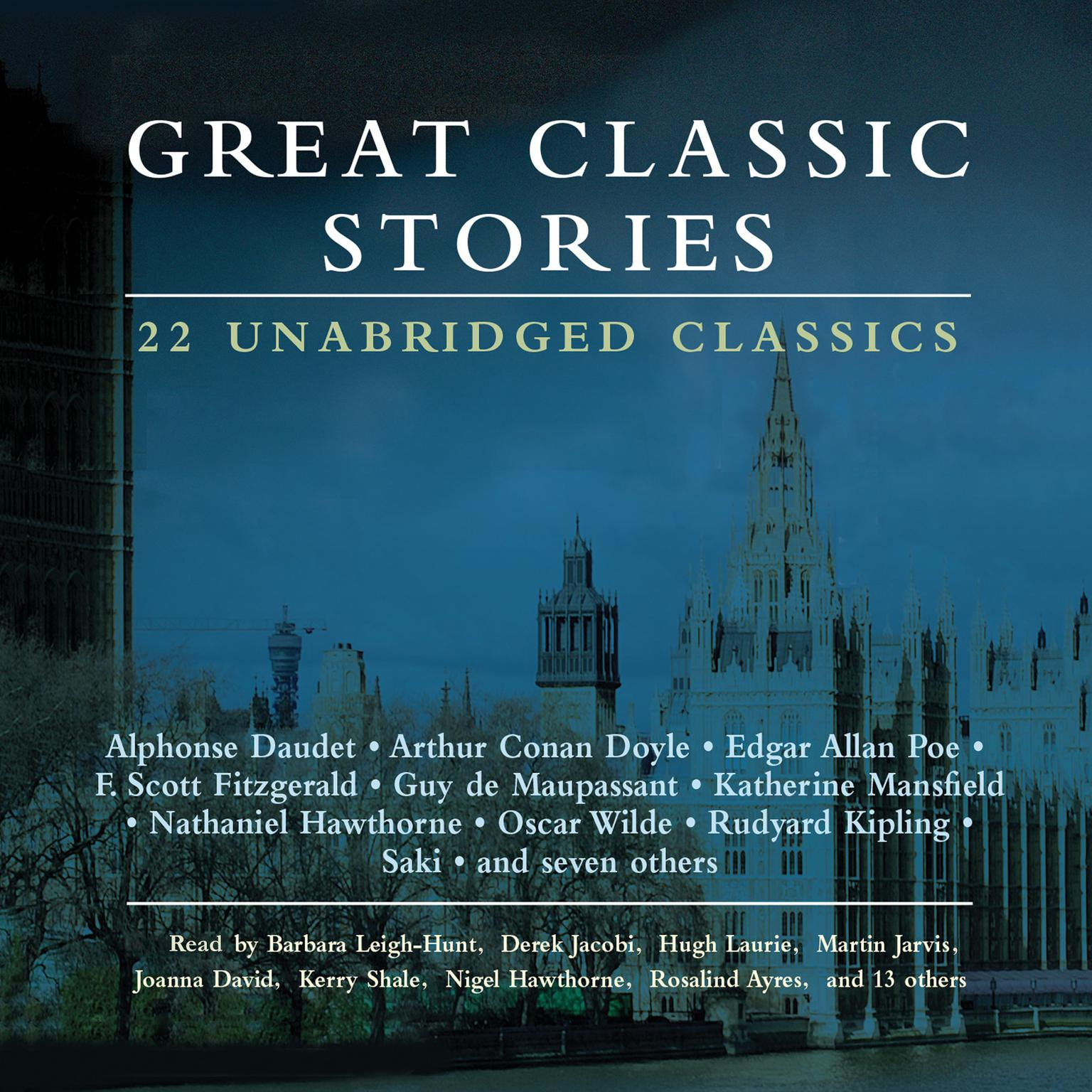 Printable Great Classic Stories: 22 Unabridged Classics Audiobook Cover Art