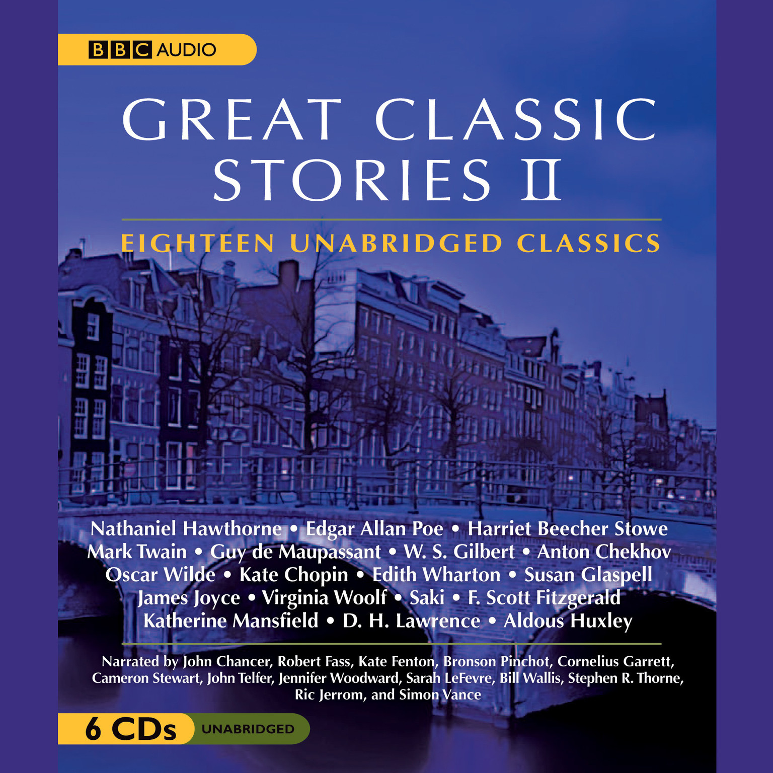 Printable Great Classic Stories II Audiobook Cover Art