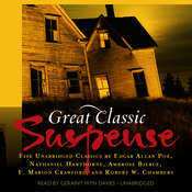 Great Classic Suspense: Five Unabridged Classics Audiobook, by various authors