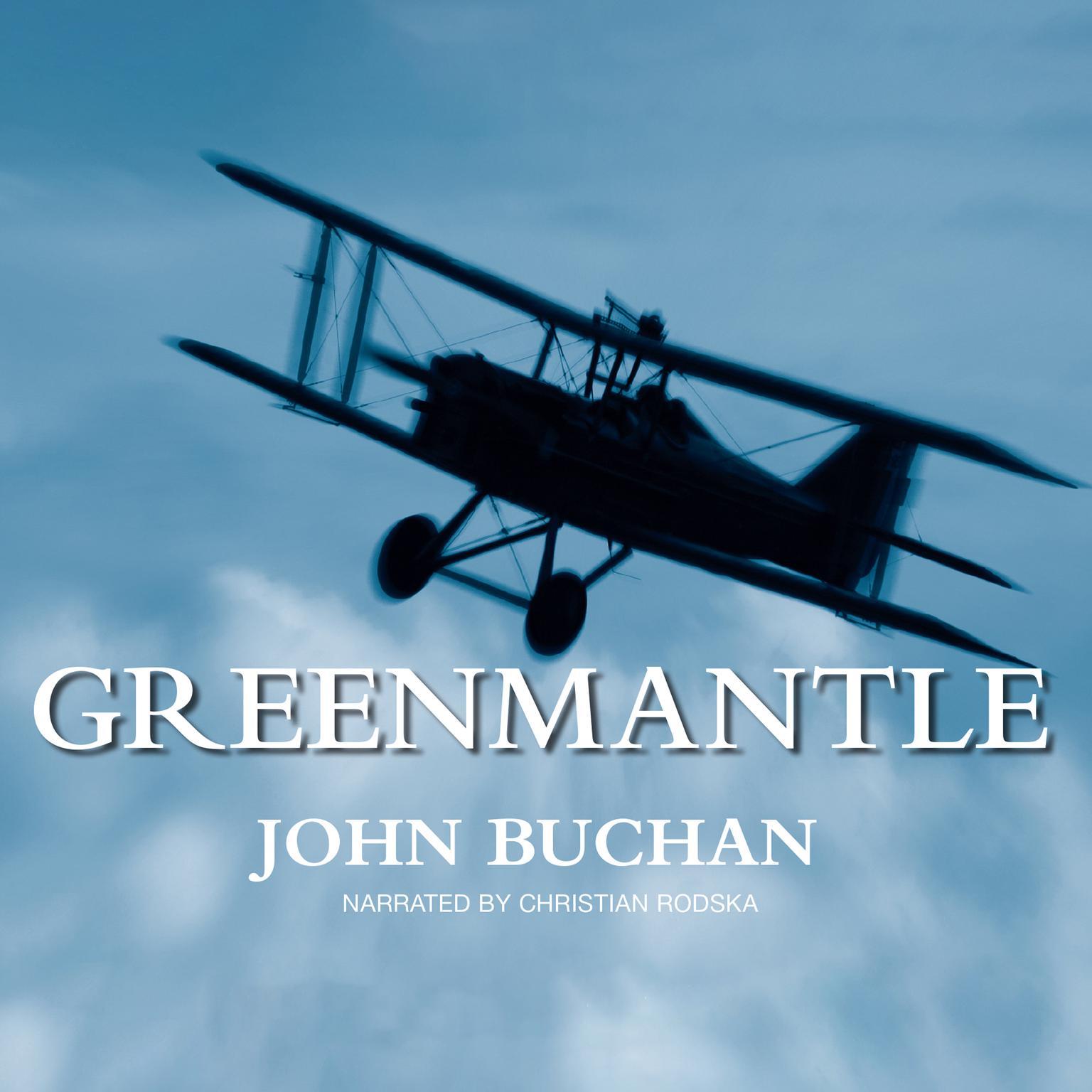 Printable Greenmantle Audiobook Cover Art