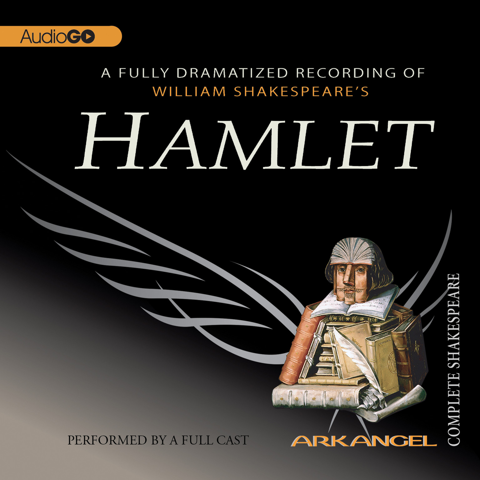 Printable Hamlet Audiobook Cover Art