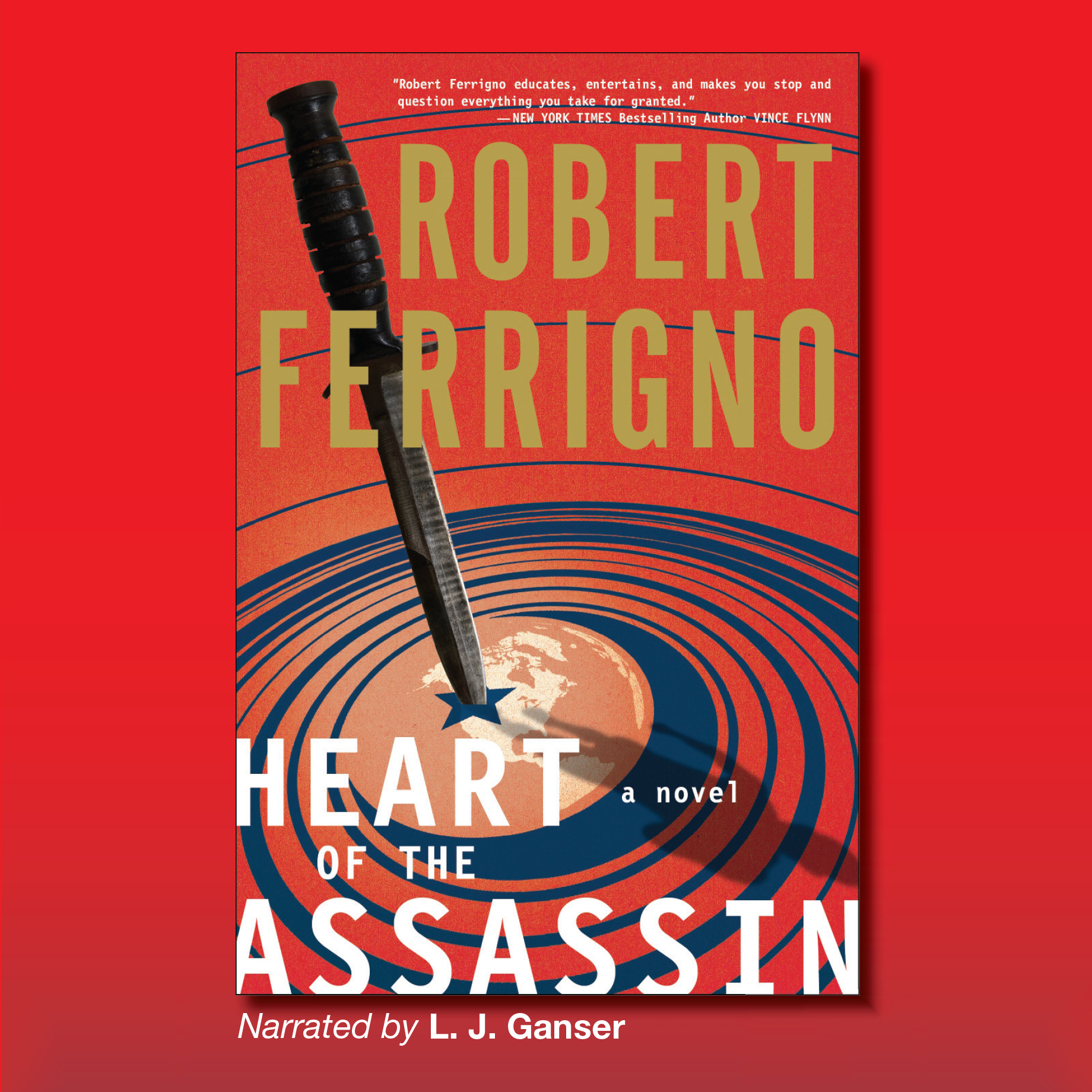Printable Heart of the Assassin: A Novel Audiobook Cover Art