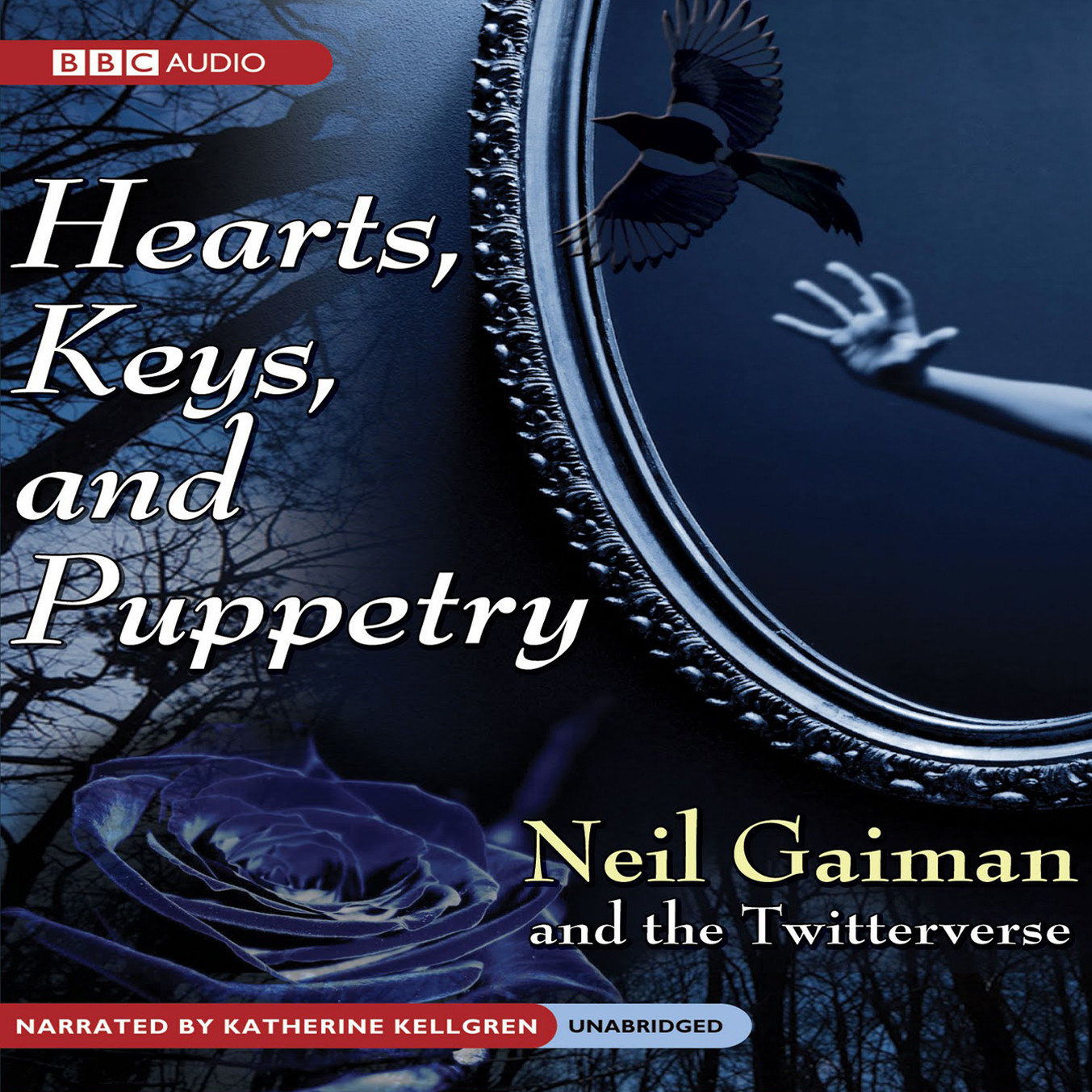 Printable Hearts, Keys, and Puppetry Audiobook Cover Art
