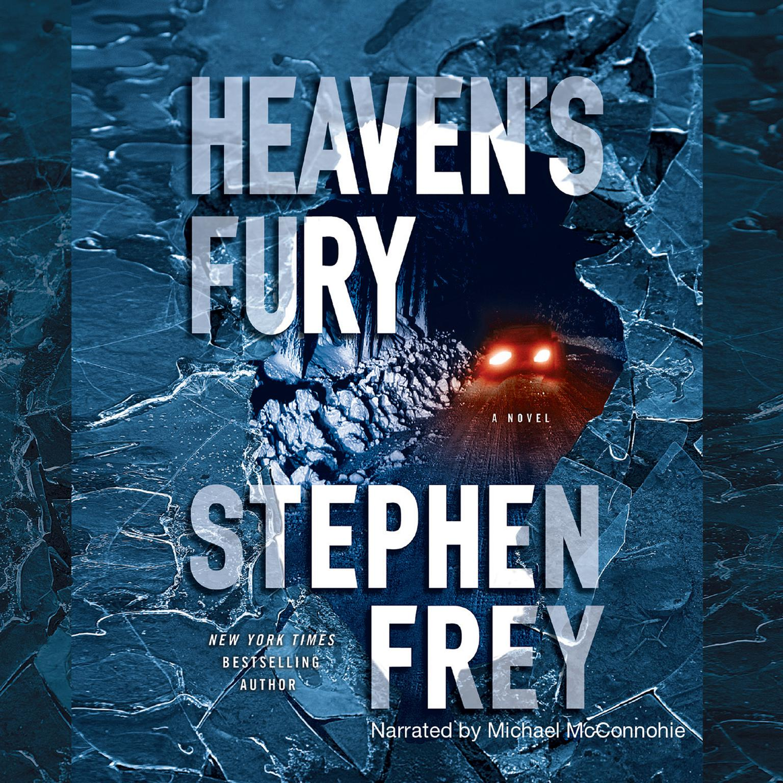 Printable Heaven's Fury: A Novel Audiobook Cover Art