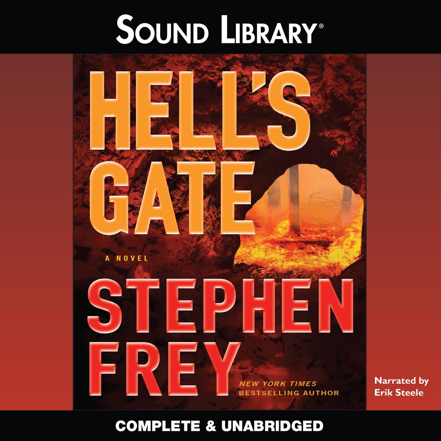 Printable Hell's Gate: A Novel Audiobook Cover Art