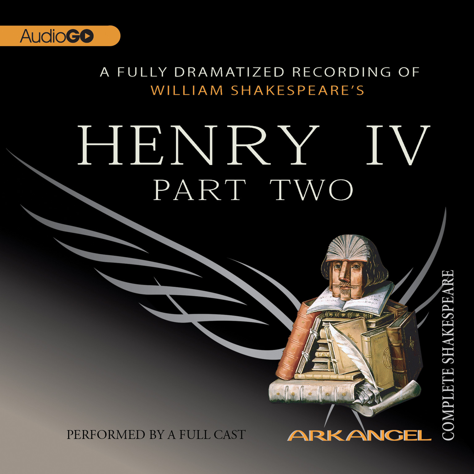 Printable Henry IV, Part 2 Audiobook Cover Art