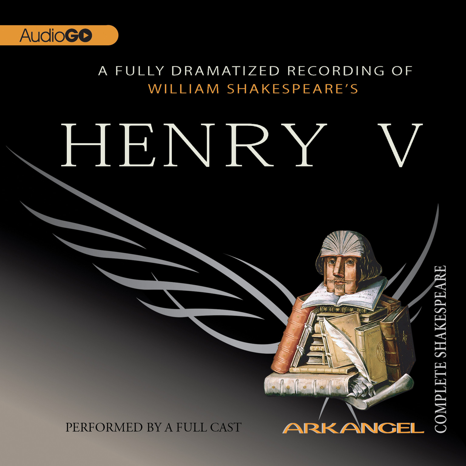 Printable Henry V Audiobook Cover Art