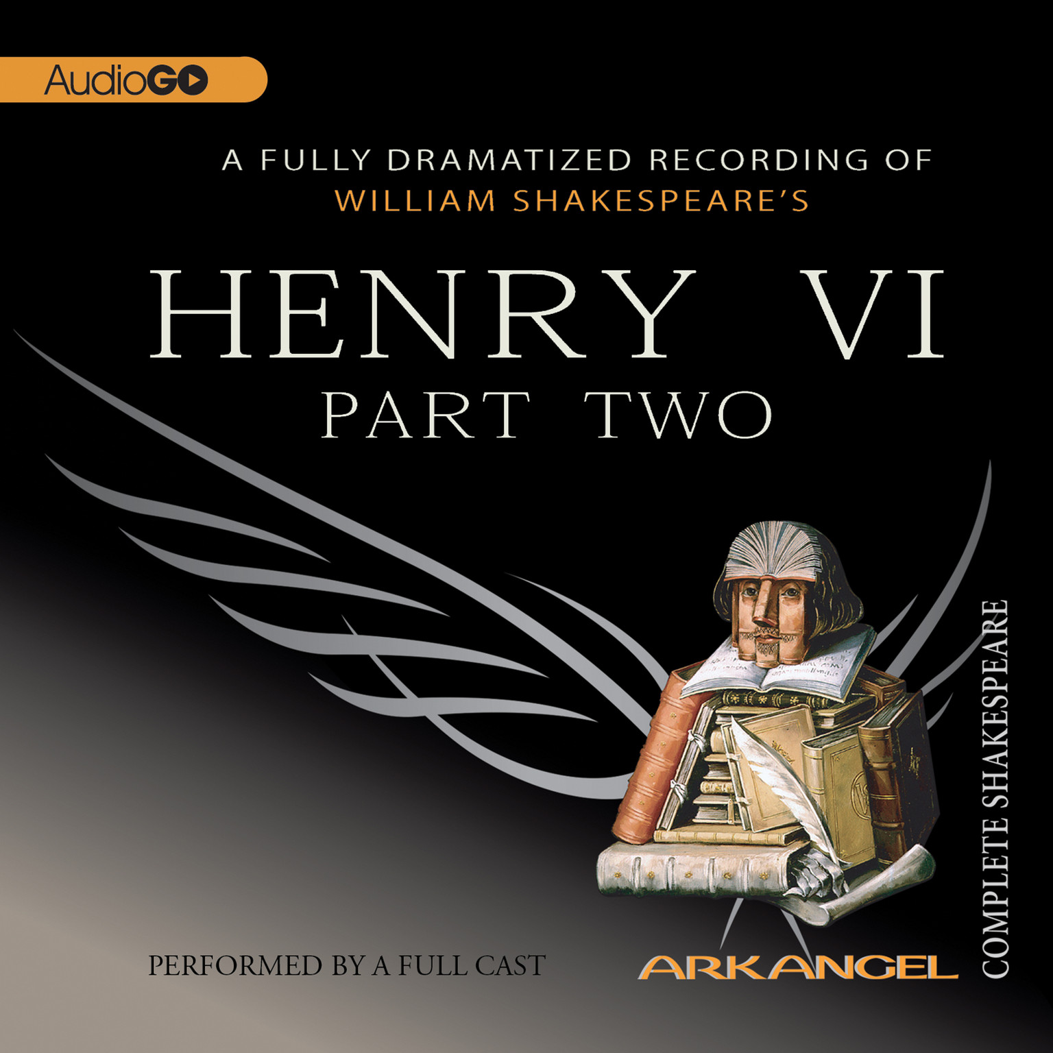 Printable Henry VI, Part 2 Audiobook Cover Art