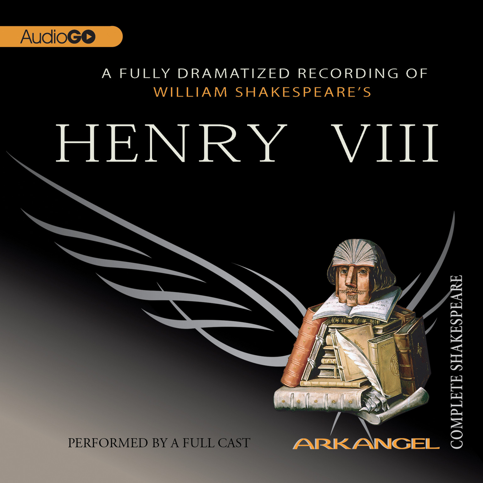 Printable Henry VIII Audiobook Cover Art