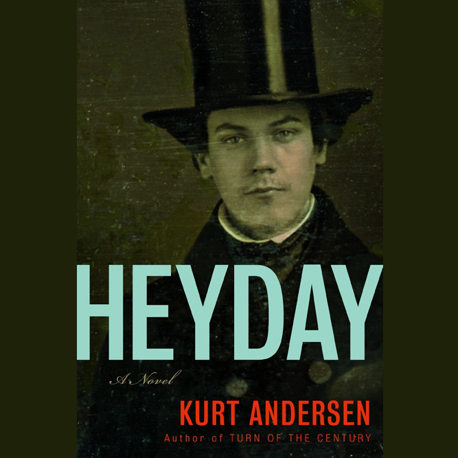 Printable Heyday Audiobook Cover Art