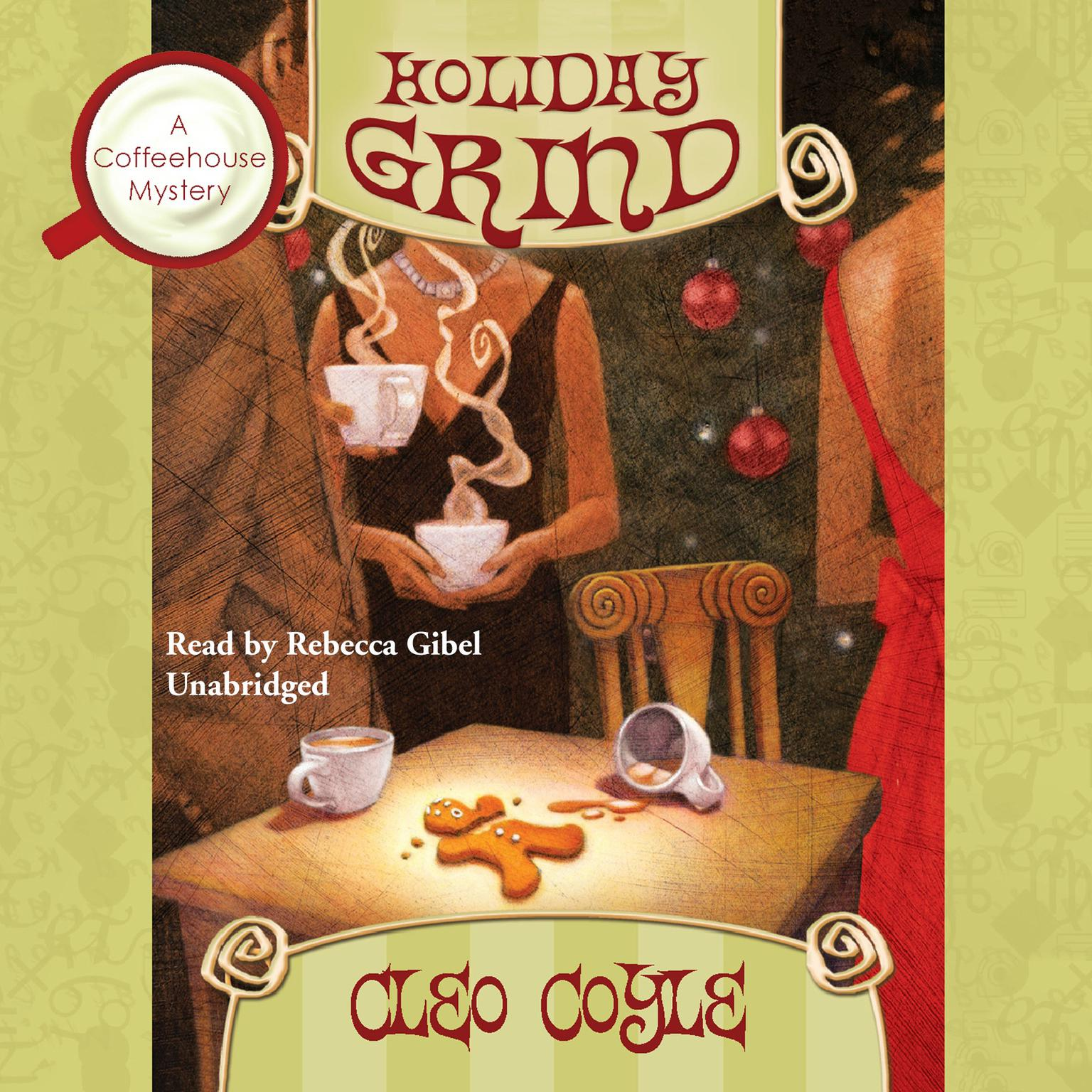 Printable Holiday Grind Audiobook Cover Art