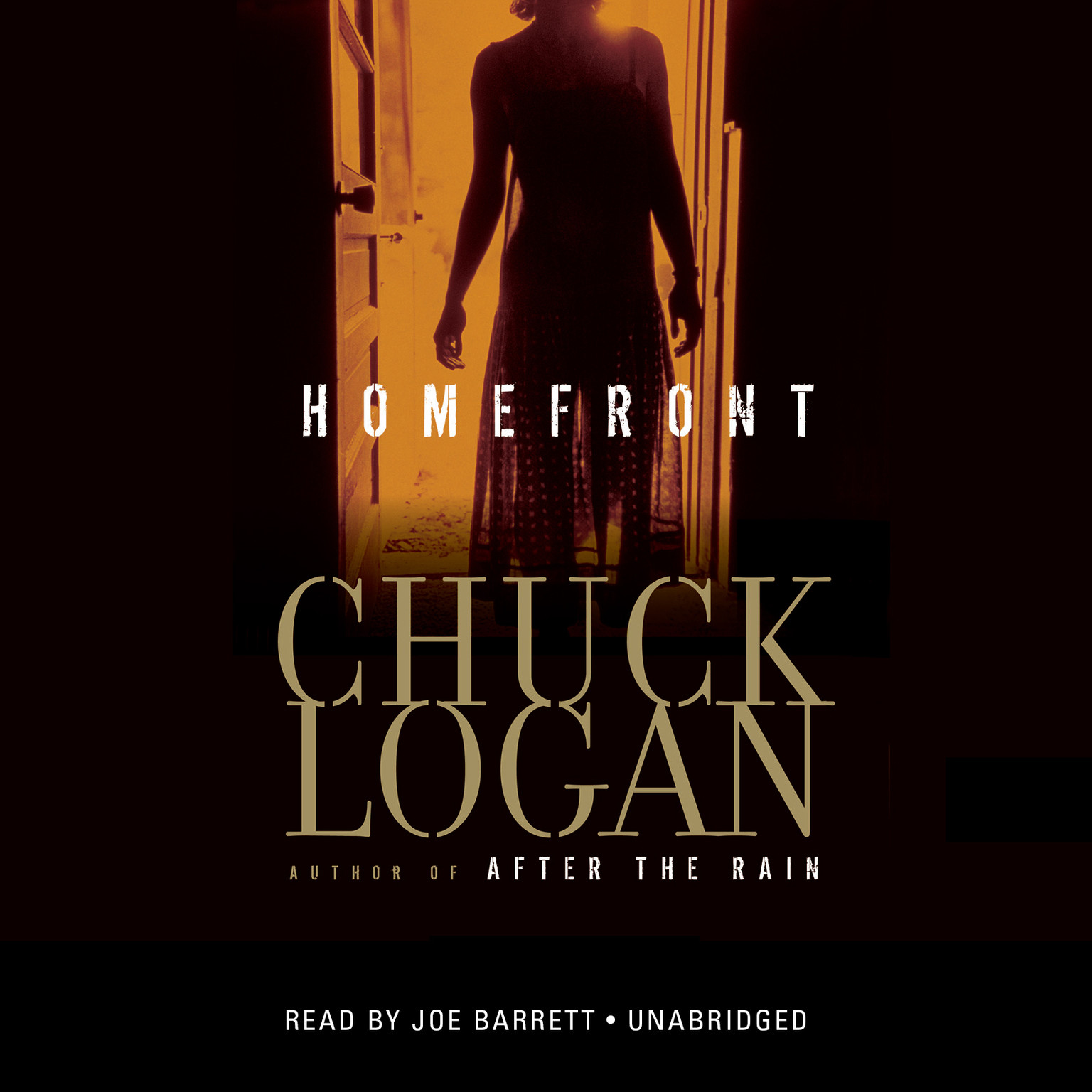 Printable Homefront Audiobook Cover Art