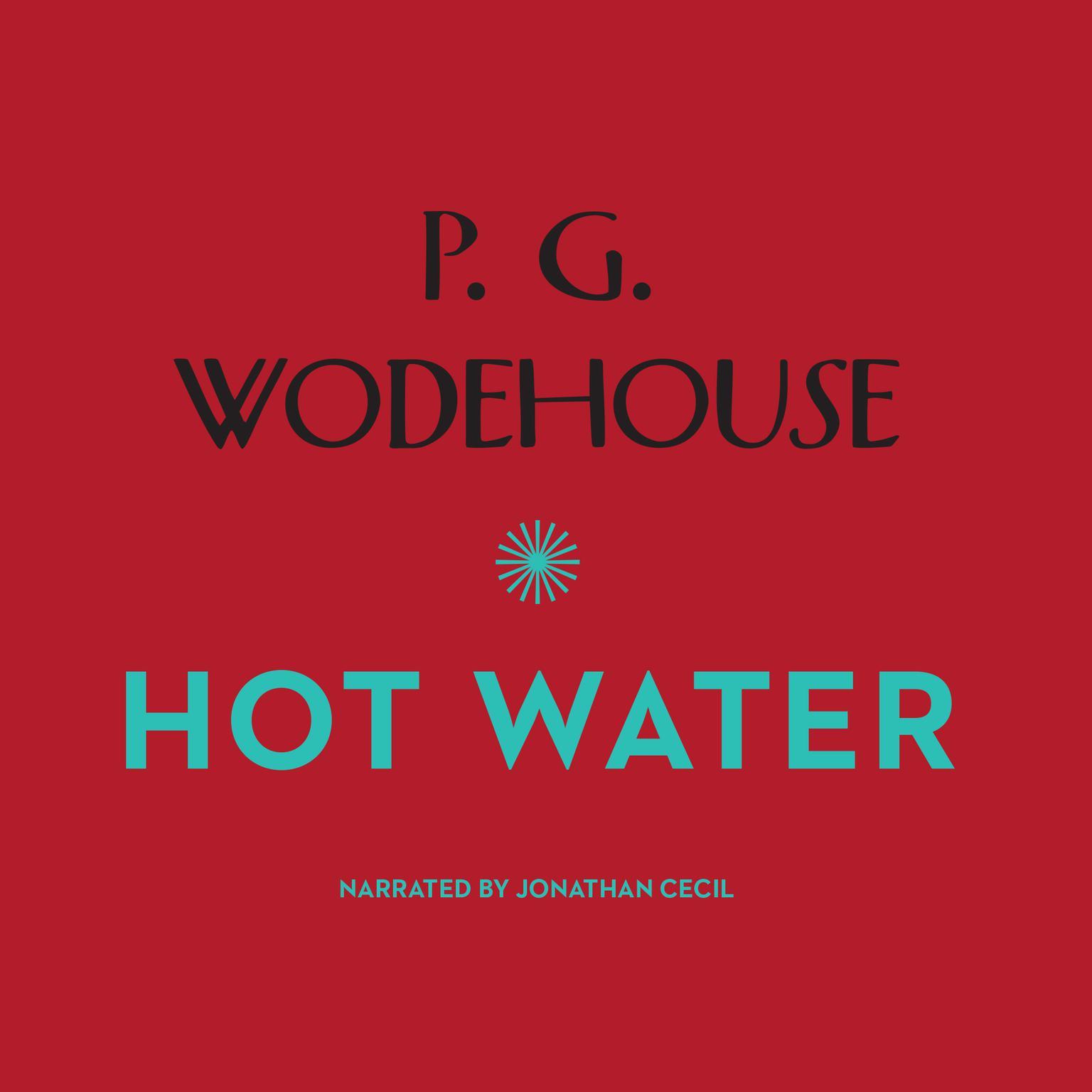 Printable Hot Water Audiobook Cover Art