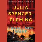 I Shall Not Want, by Julia Spencer-Fleming