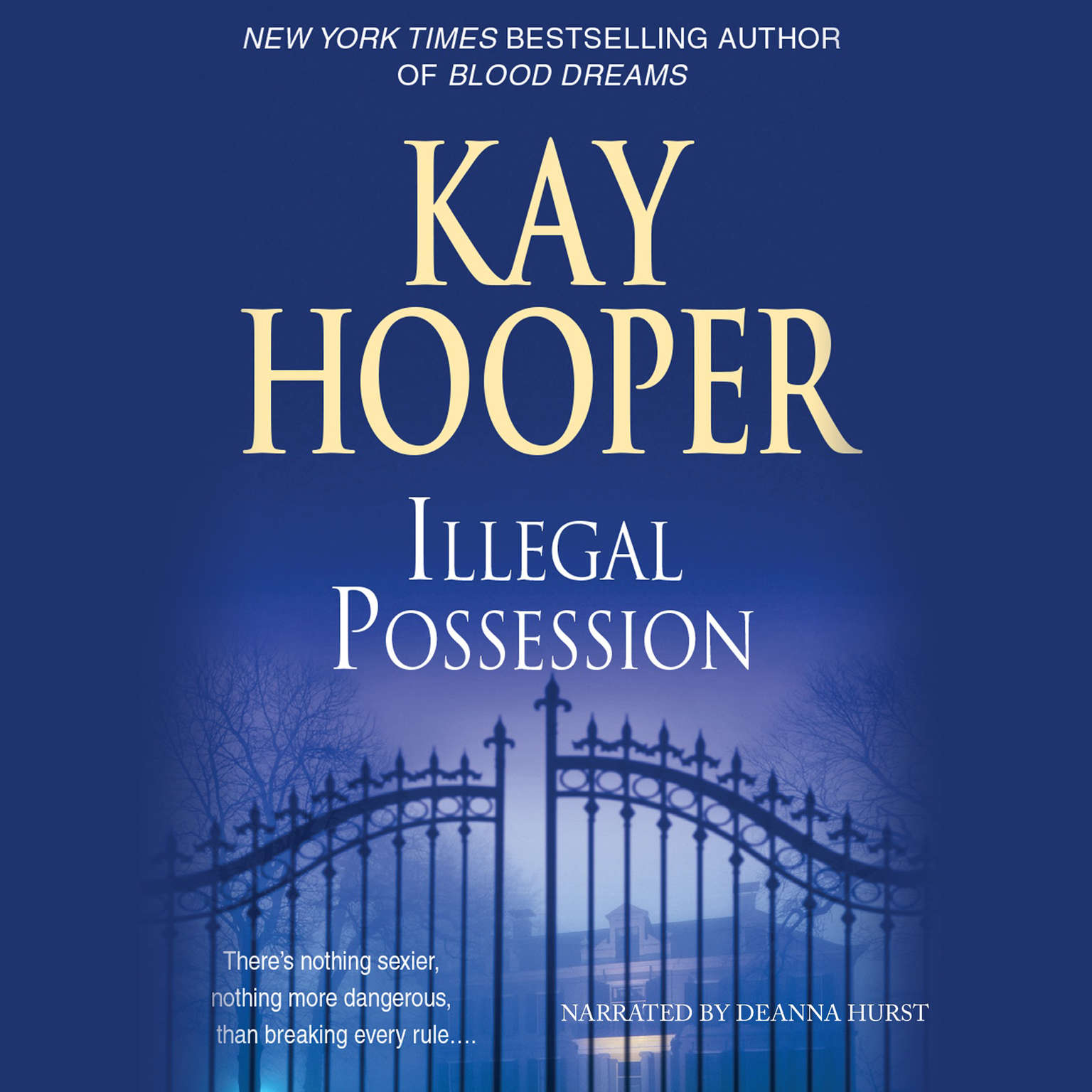 Printable Illegal Possession Audiobook Cover Art