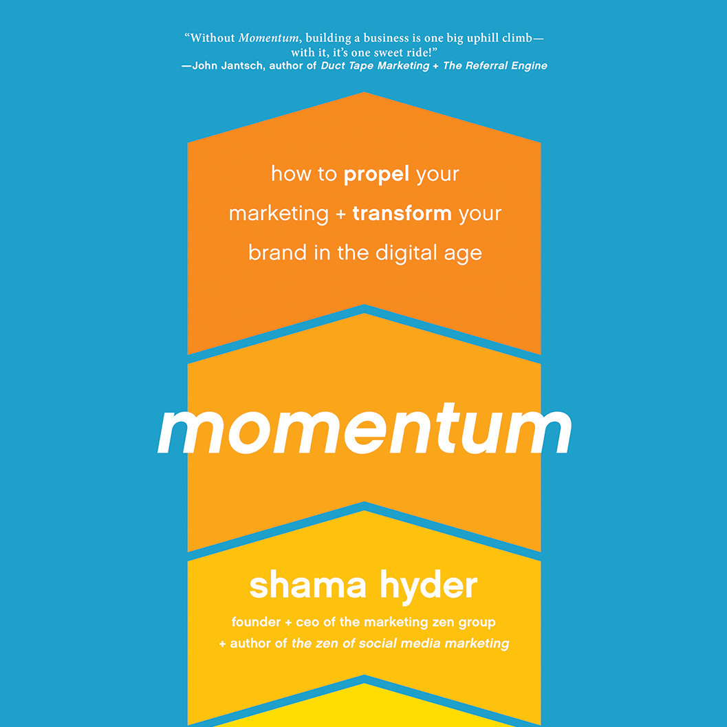 Printable Momentum: How to Propel Your Marketing and Transform Your Brand in the Digital Age Audiobook Cover Art