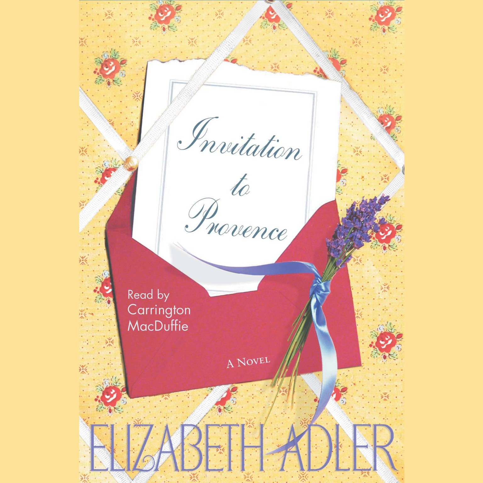 Printable Invitation to Provence Audiobook Cover Art