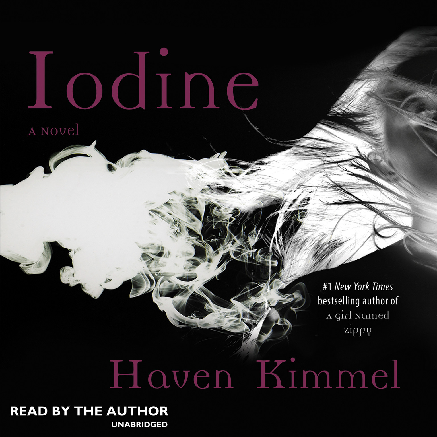 Printable Iodine: A Novel Audiobook Cover Art