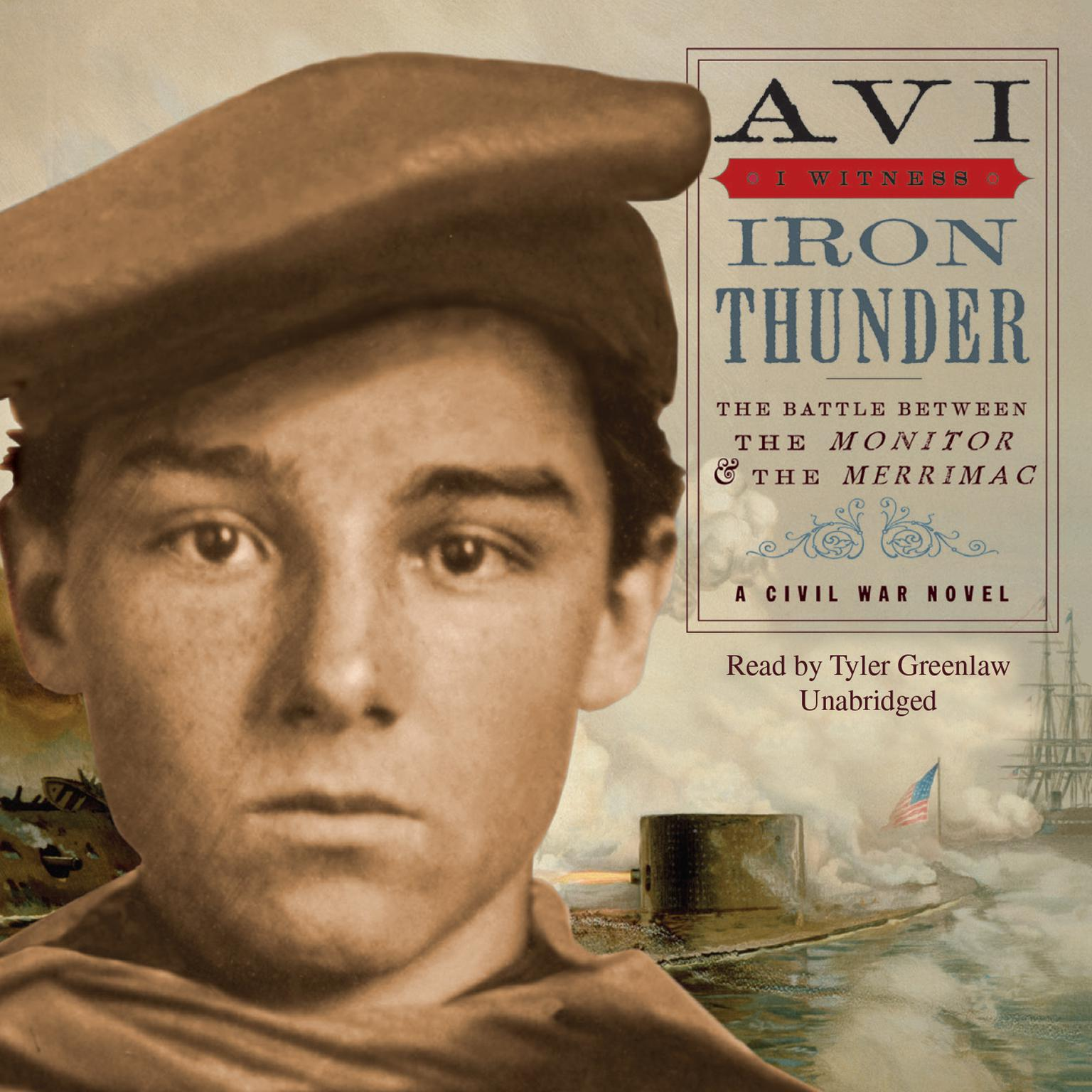 Printable Iron Thunder: A Civil War Novel Audiobook Cover Art