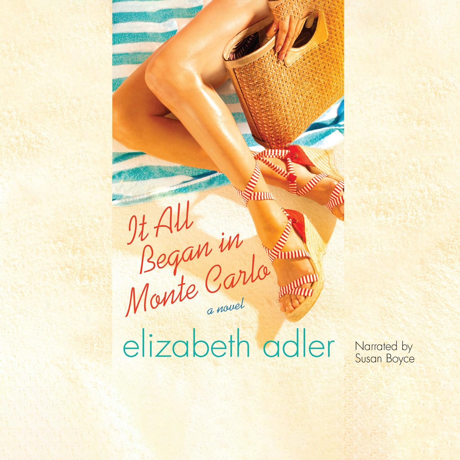 Printable It All Began in Monte Carlo Audiobook Cover Art