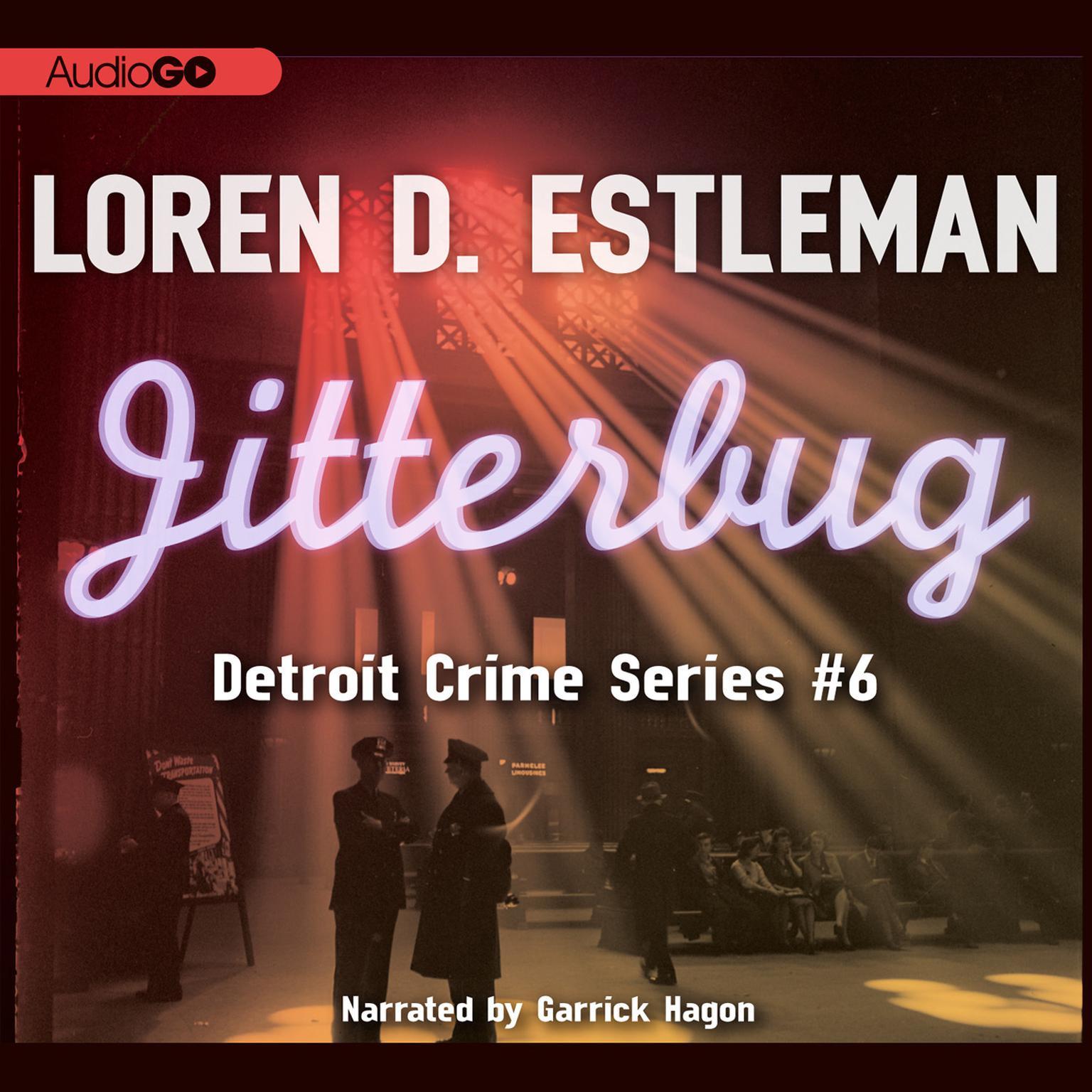 Printable Jitterbug Audiobook Cover Art