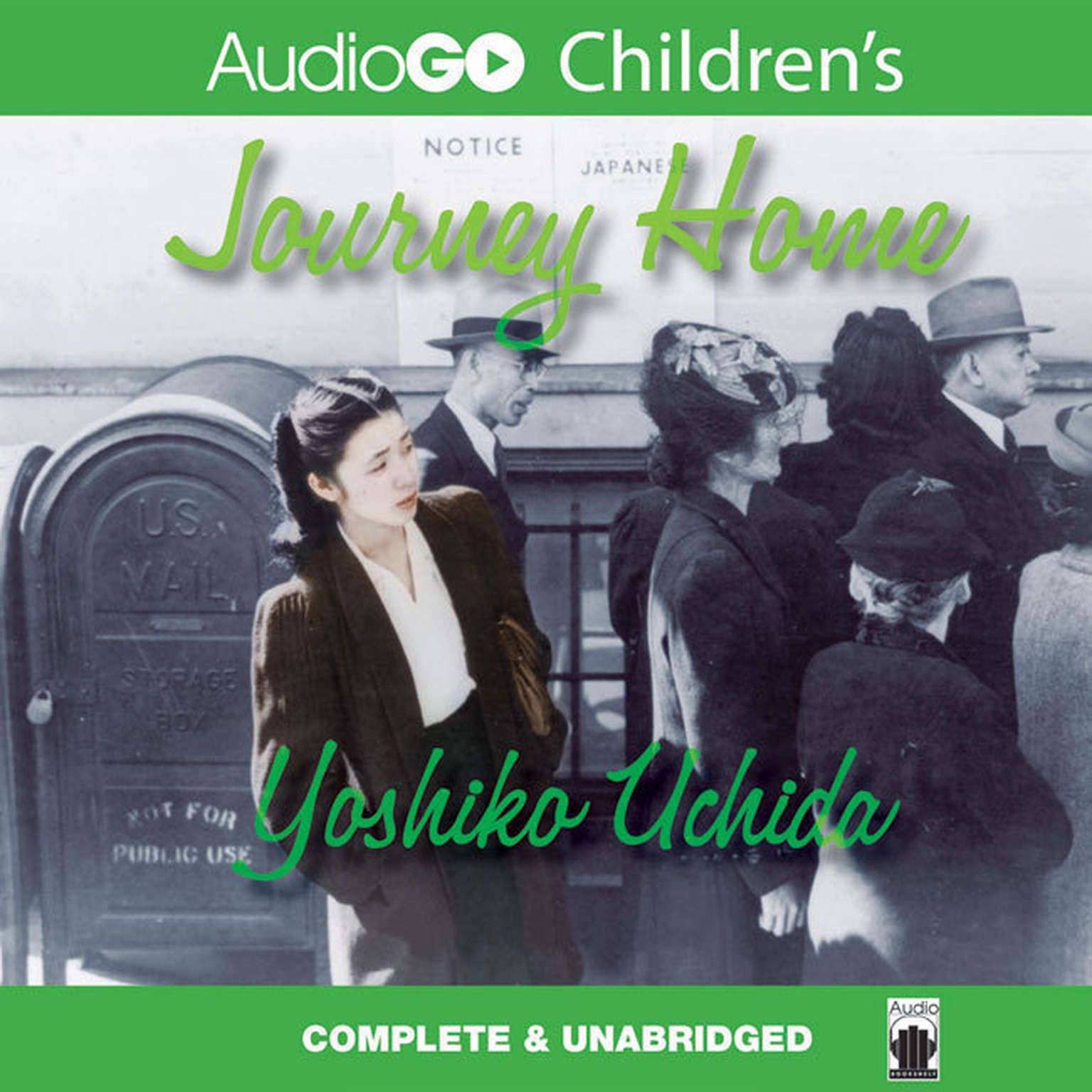 Printable Journey Home Audiobook Cover Art