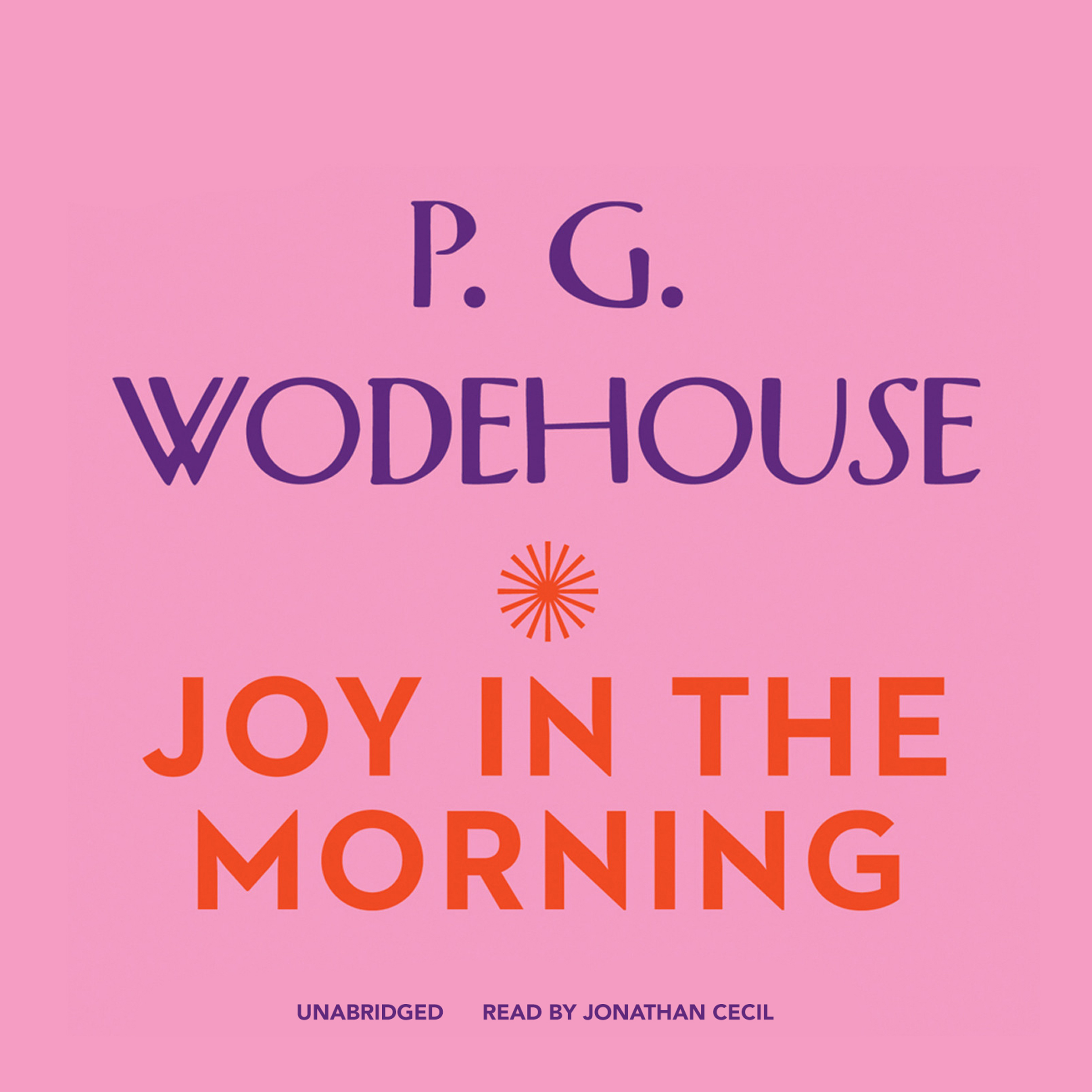 Printable Joy in the Morning Audiobook Cover Art