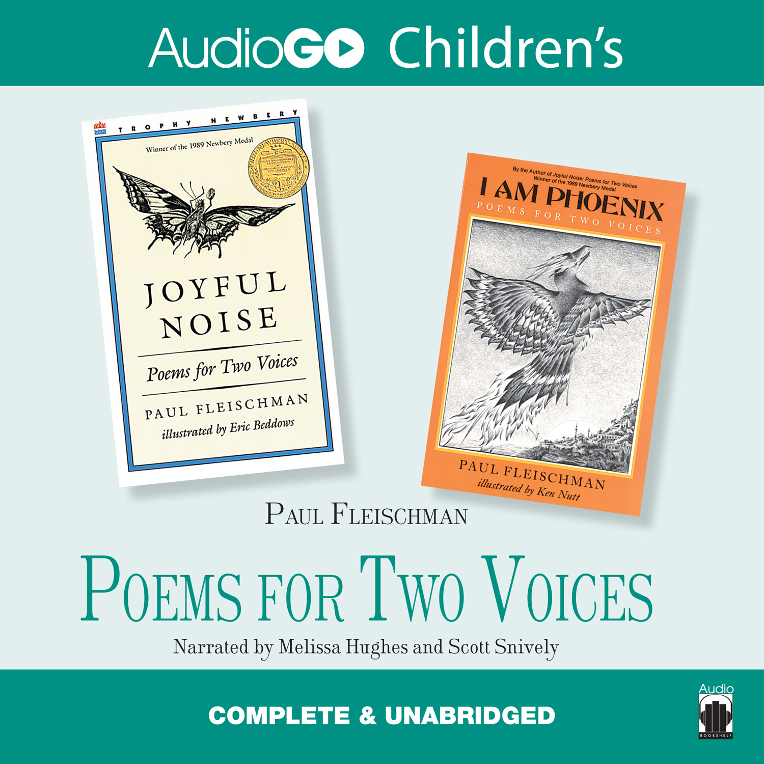poem in two voices Joyful noise: poems for two voices by paul fleischman sounds like a gospel hymnal my grandmother would have carried to church each sunday, but after glancing at the cover, you will find that those sounds come from nature's creation, called insects.