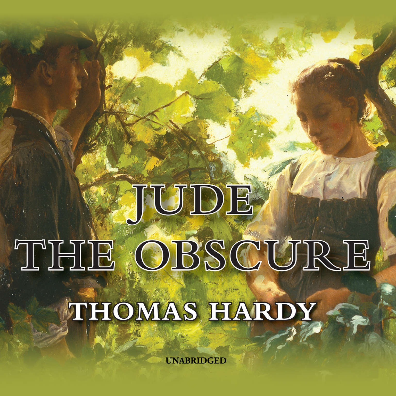 Printable Jude the Obscure Audiobook Cover Art