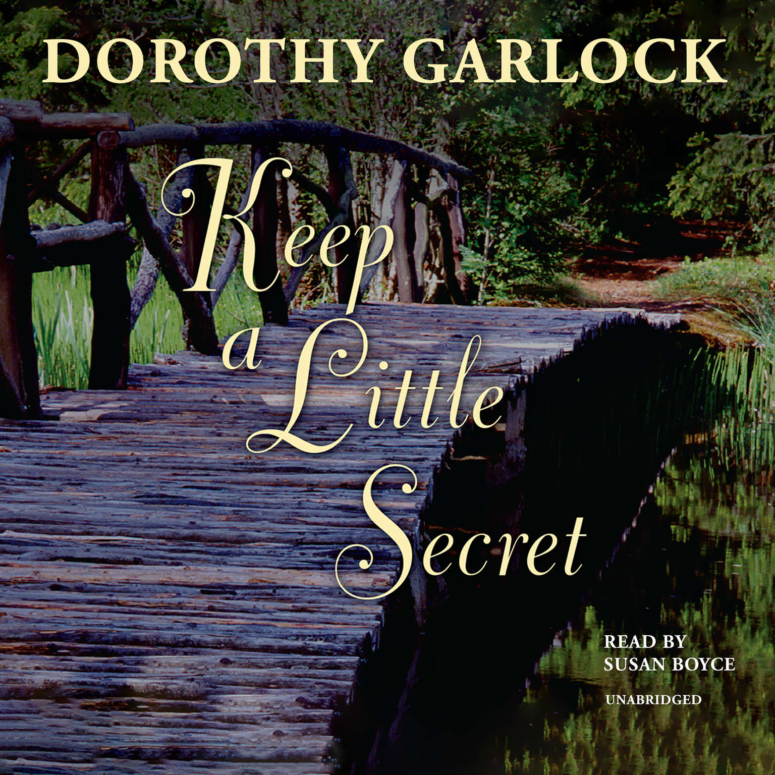 Printable Keep a Little Secret Audiobook Cover Art