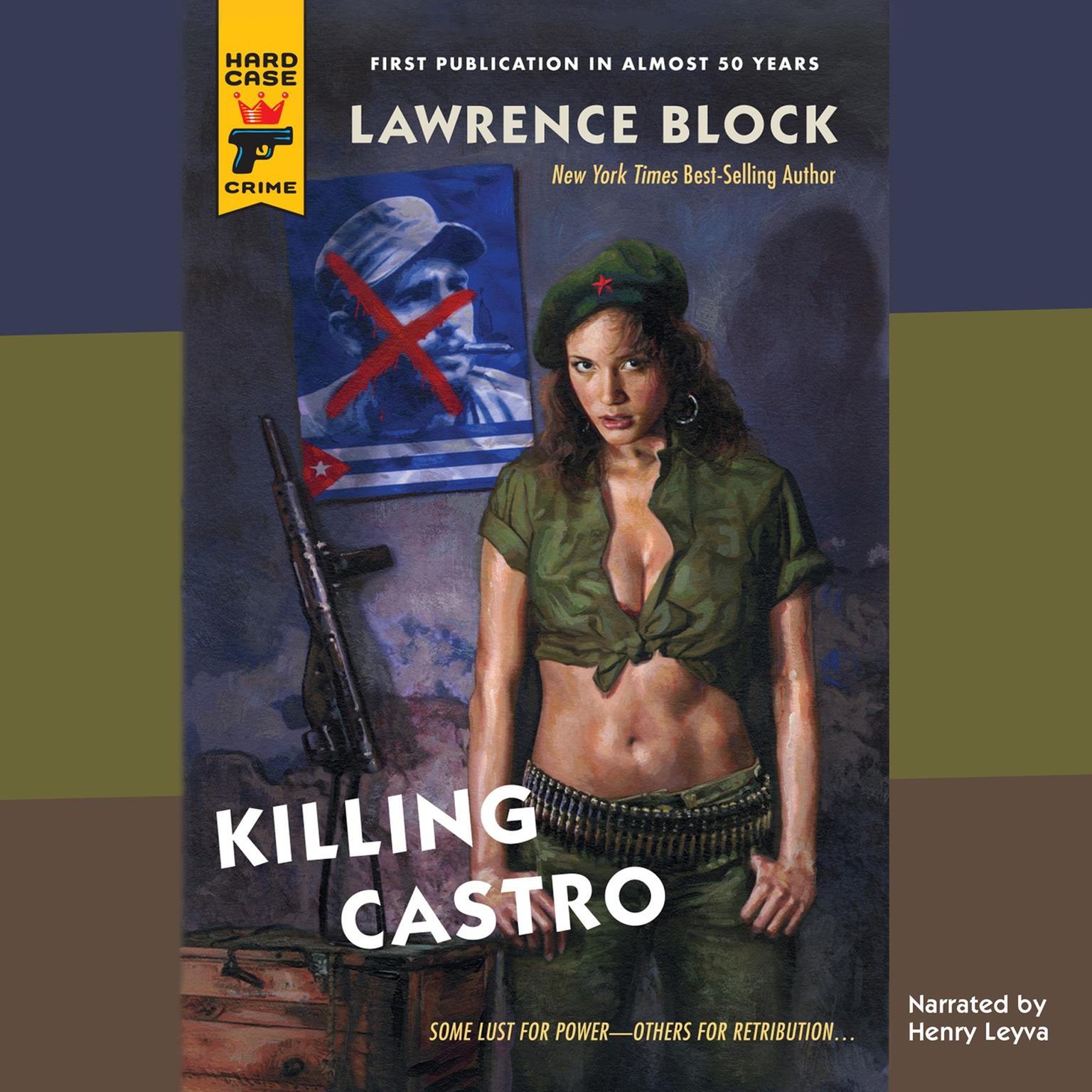 Printable Killing Castro Audiobook Cover Art