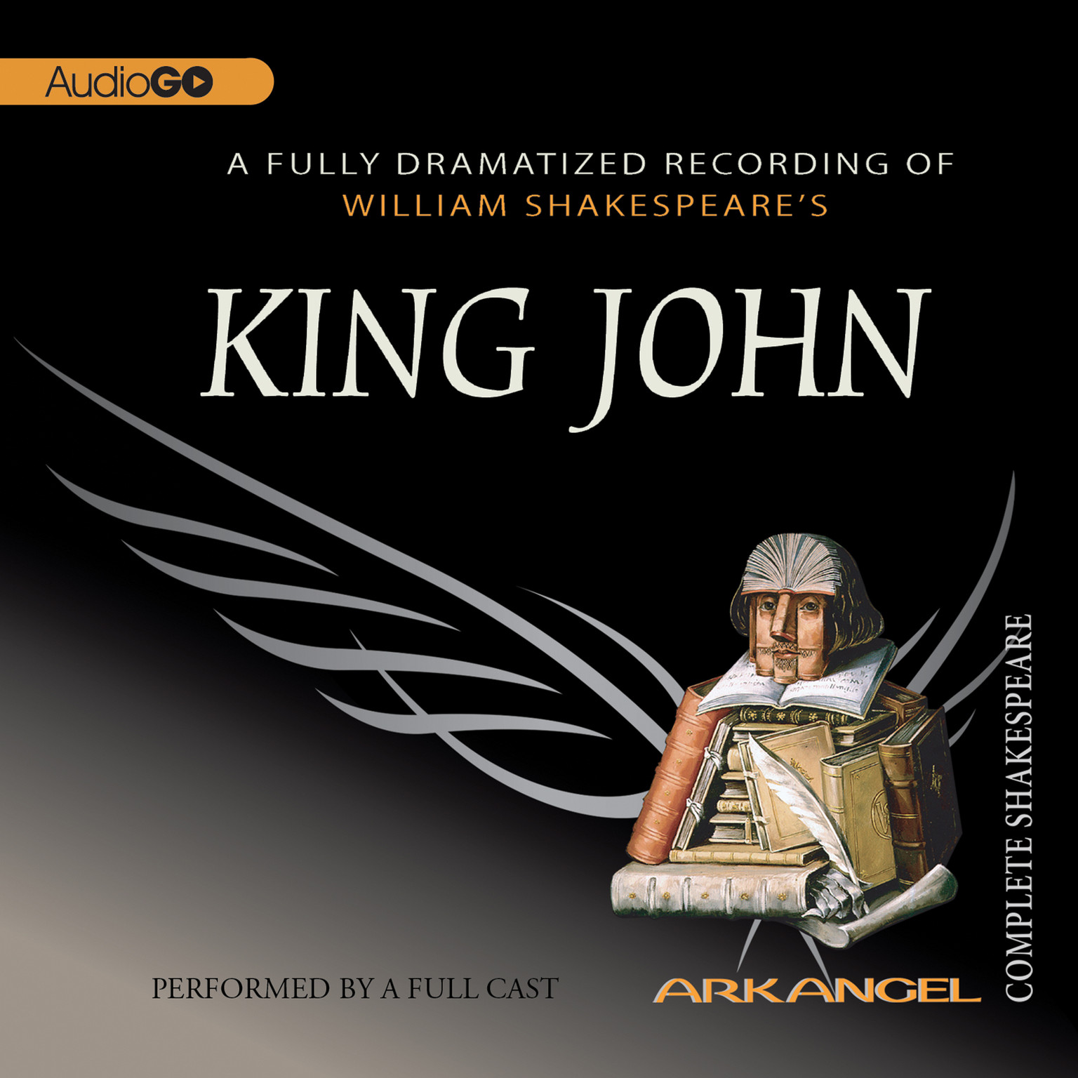 Printable King John Audiobook Cover Art
