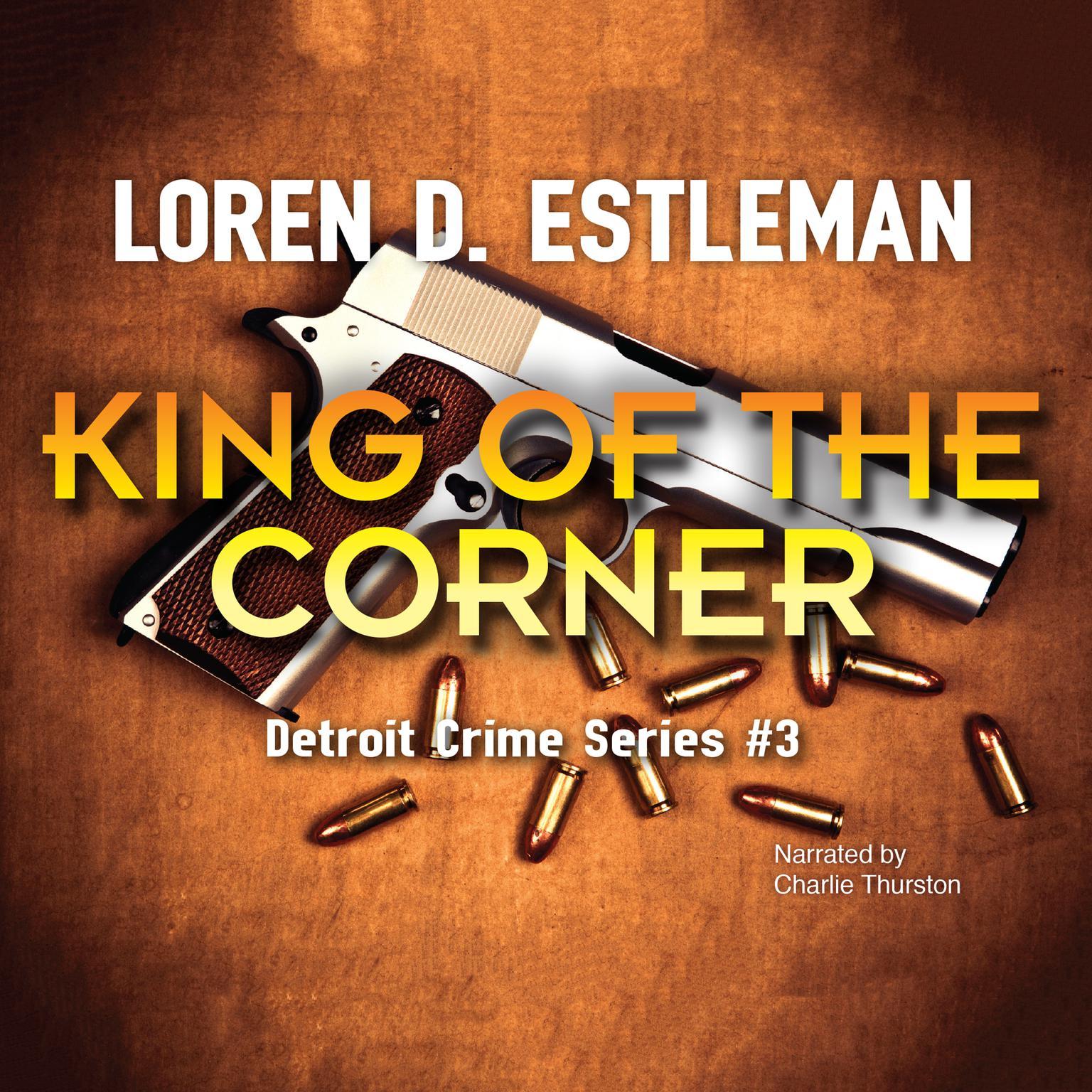 Printable King of the Corner Audiobook Cover Art