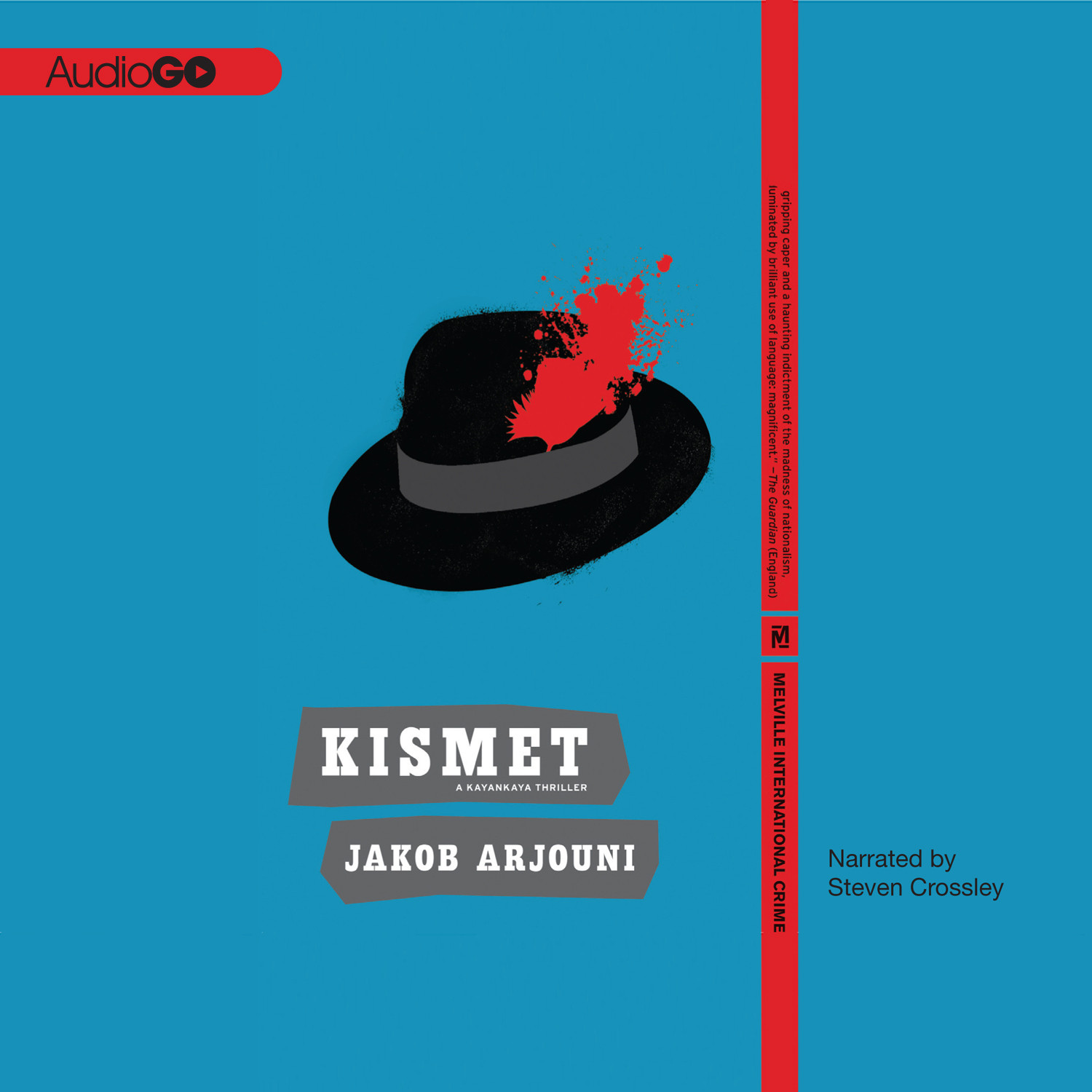 Printable Kismet Audiobook Cover Art