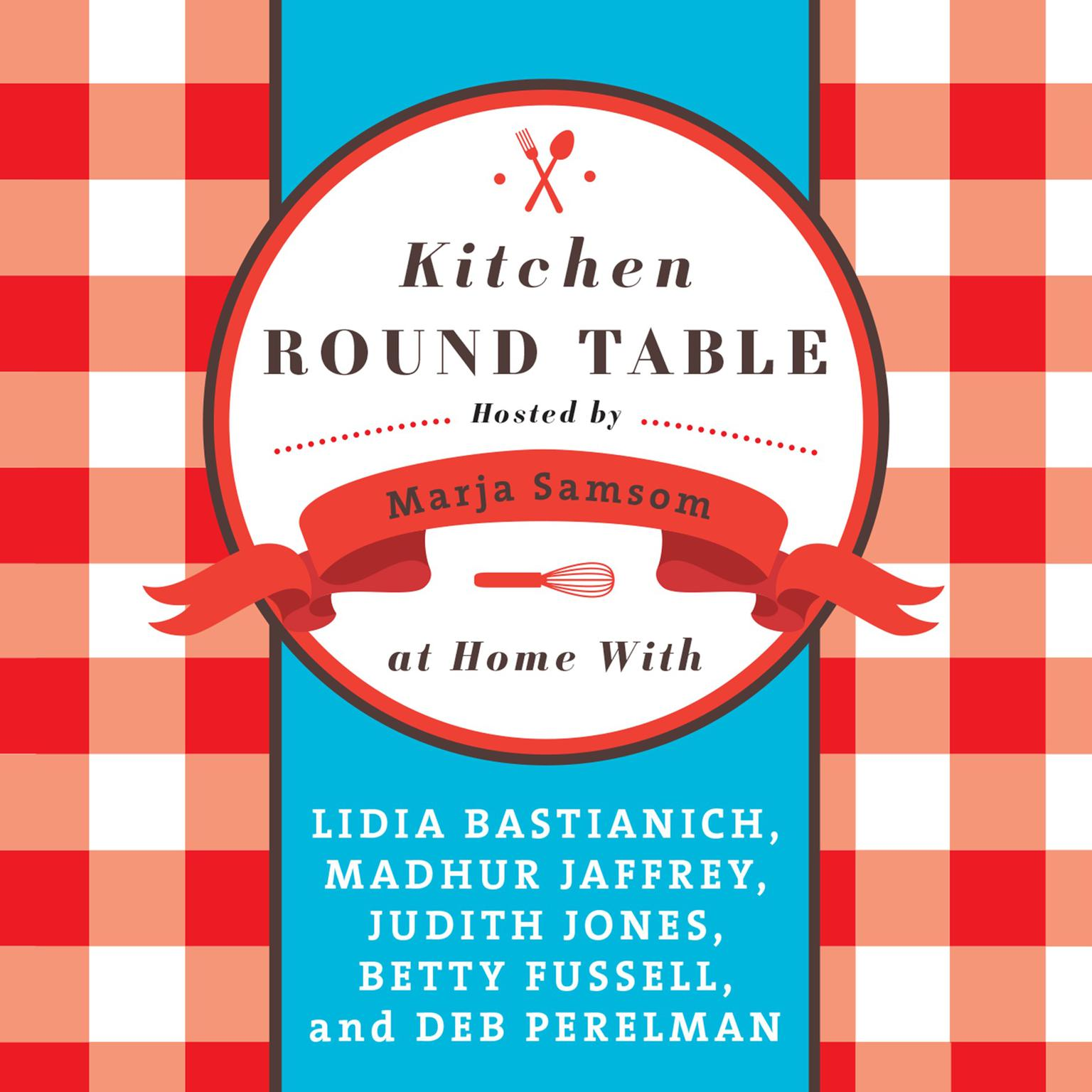 Printable Kitchen Round Table Audiobook Cover Art