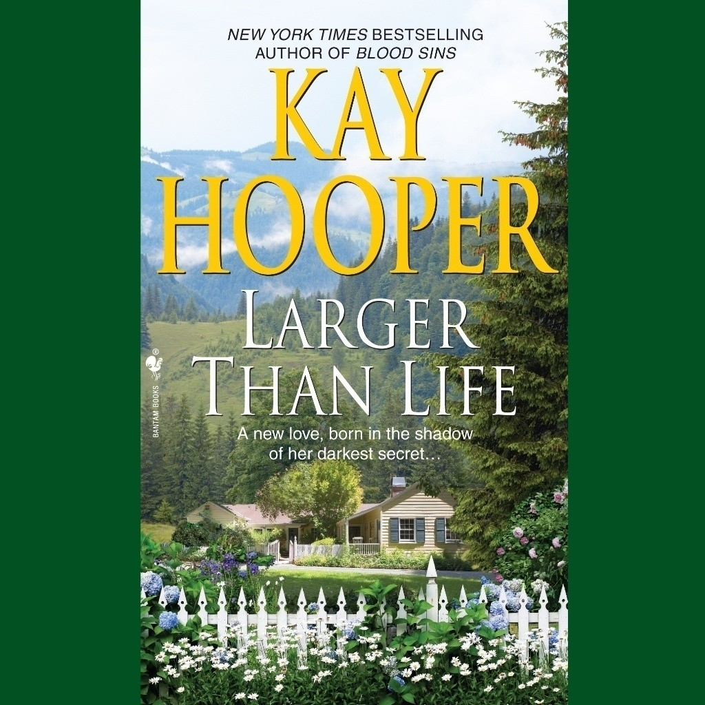 Printable Larger Than Life Audiobook Cover Art