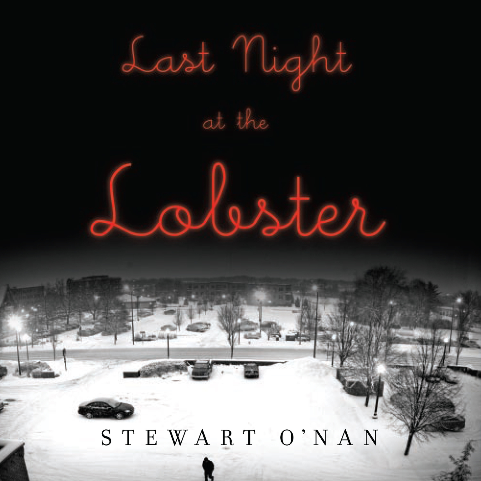 Printable Last Night at the Lobster Audiobook Cover Art