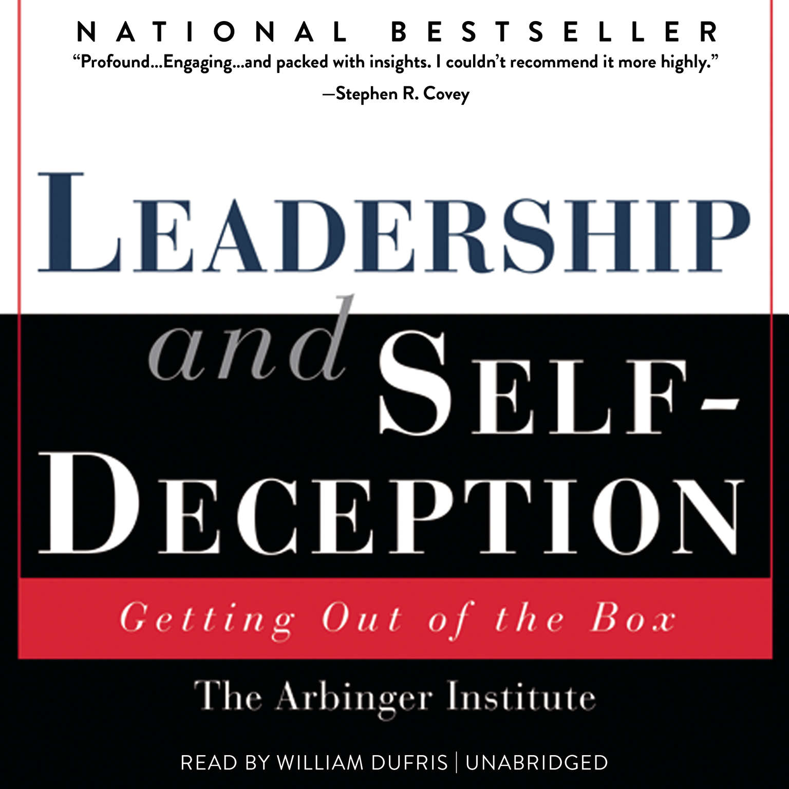 Printable Leadership and Self-Deception: Getting out of the Box Audiobook Cover Art