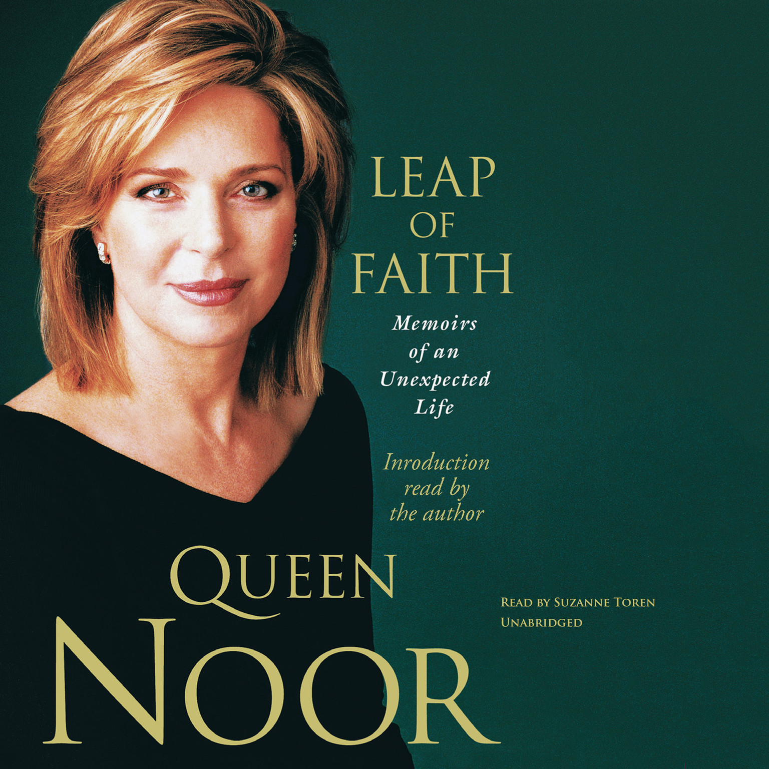 Printable Leap of Faith: Memoirs of an Unexpected Life Audiobook Cover Art
