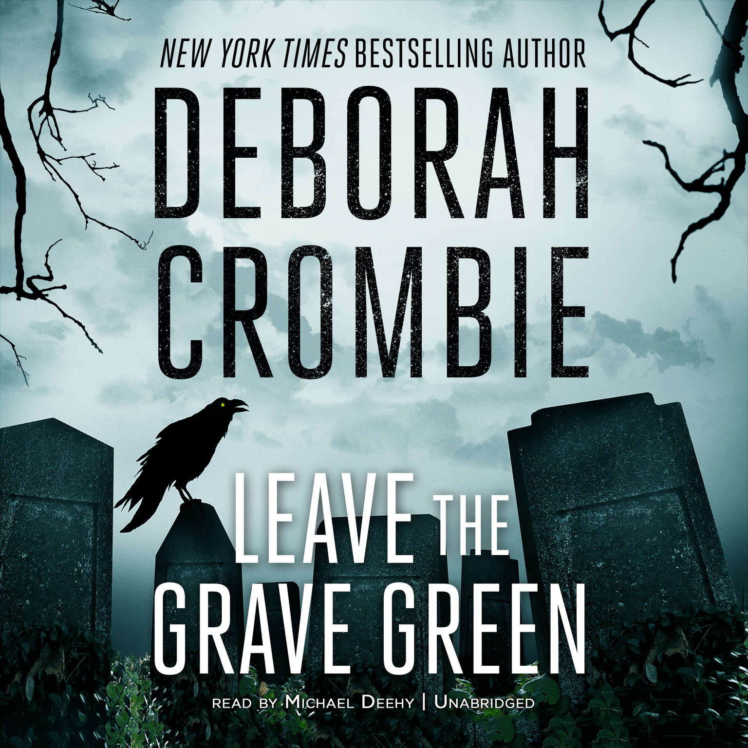 Printable Leave the Grave Green Audiobook Cover Art