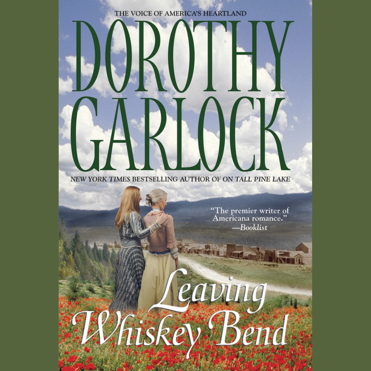 Printable Leaving Whiskey Bend Audiobook Cover Art
