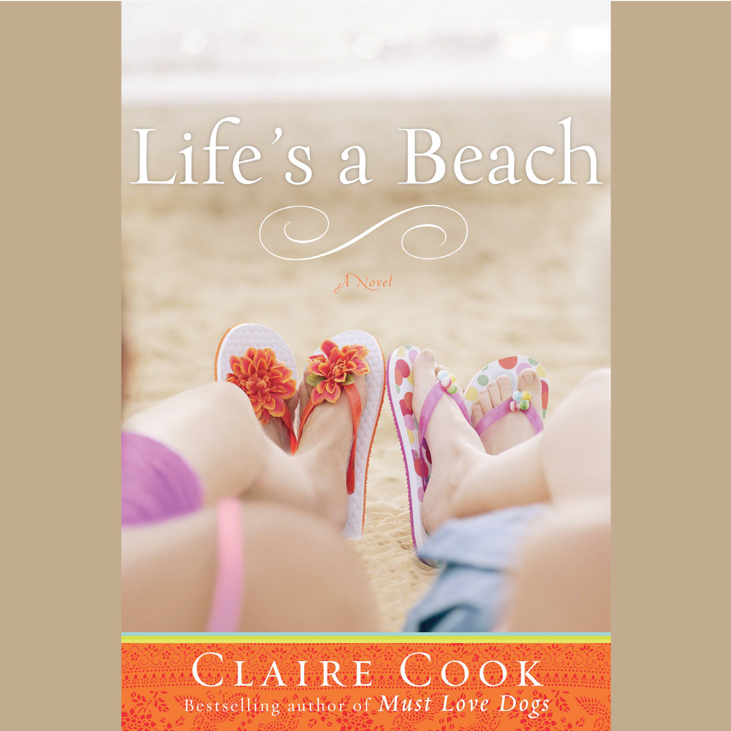 Printable Life's a Beach Audiobook Cover Art