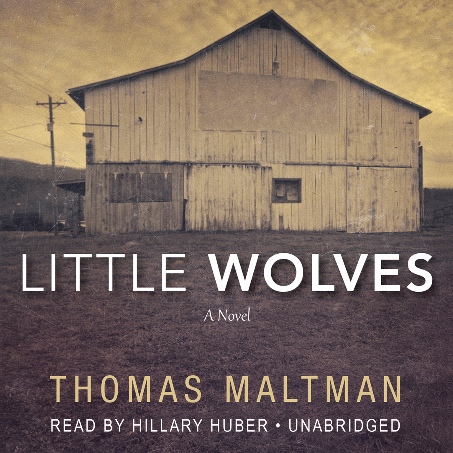 Printable Little Wolves Audiobook Cover Art
