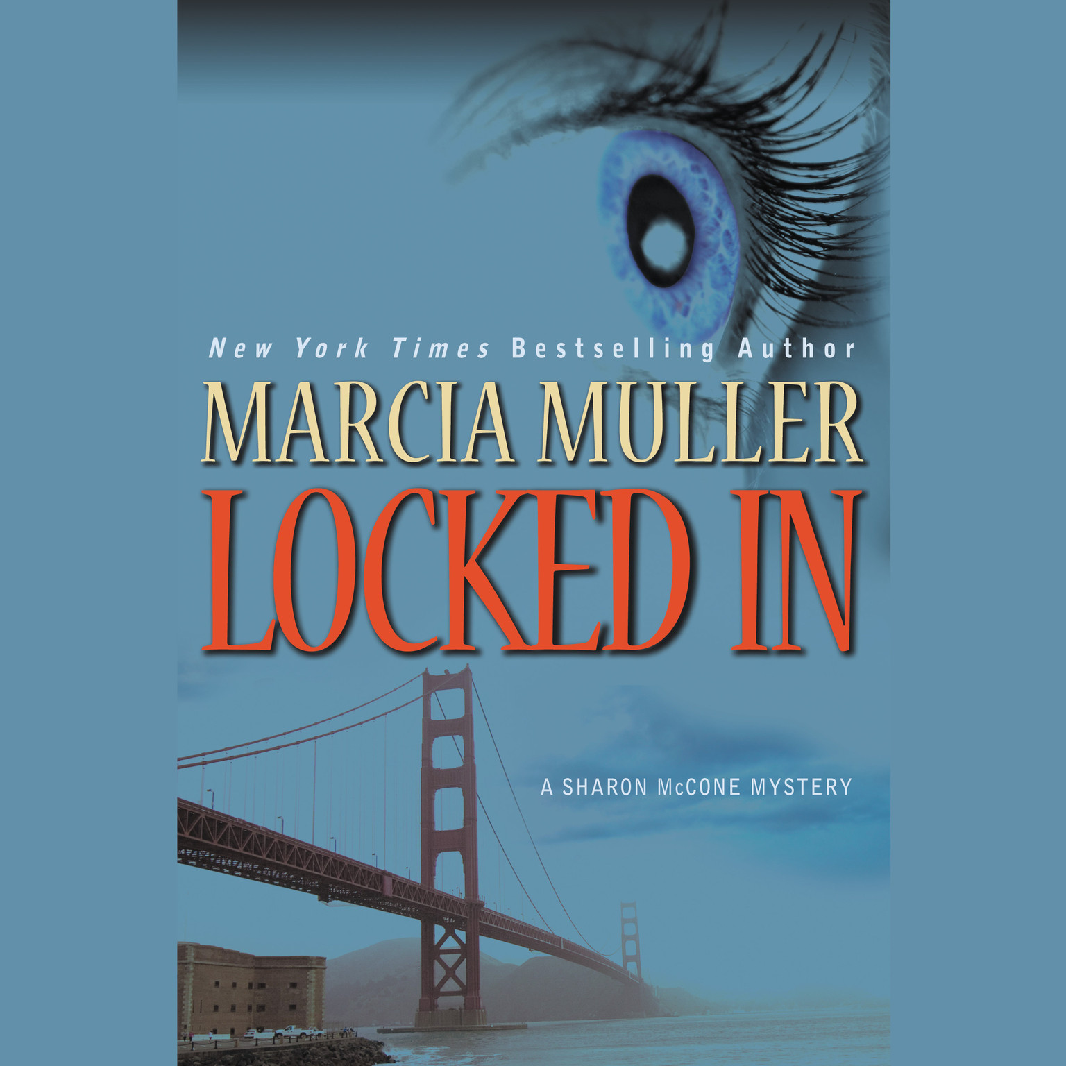 Printable Locked In Audiobook Cover Art