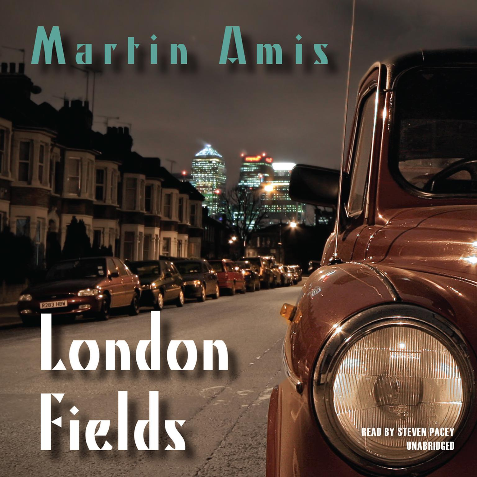 Printable London Fields Audiobook Cover Art