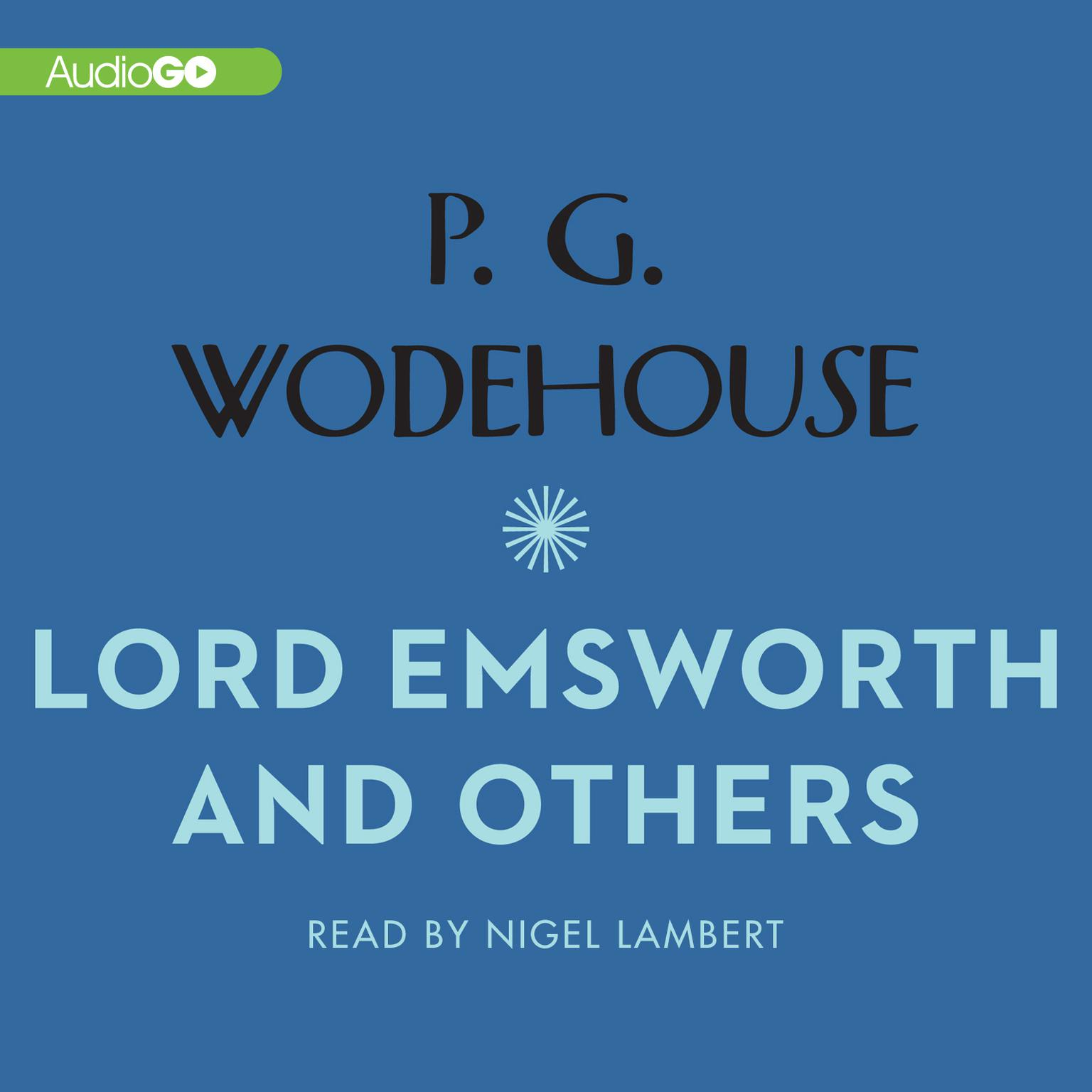 Printable Lord Emsworth and Others Audiobook Cover Art