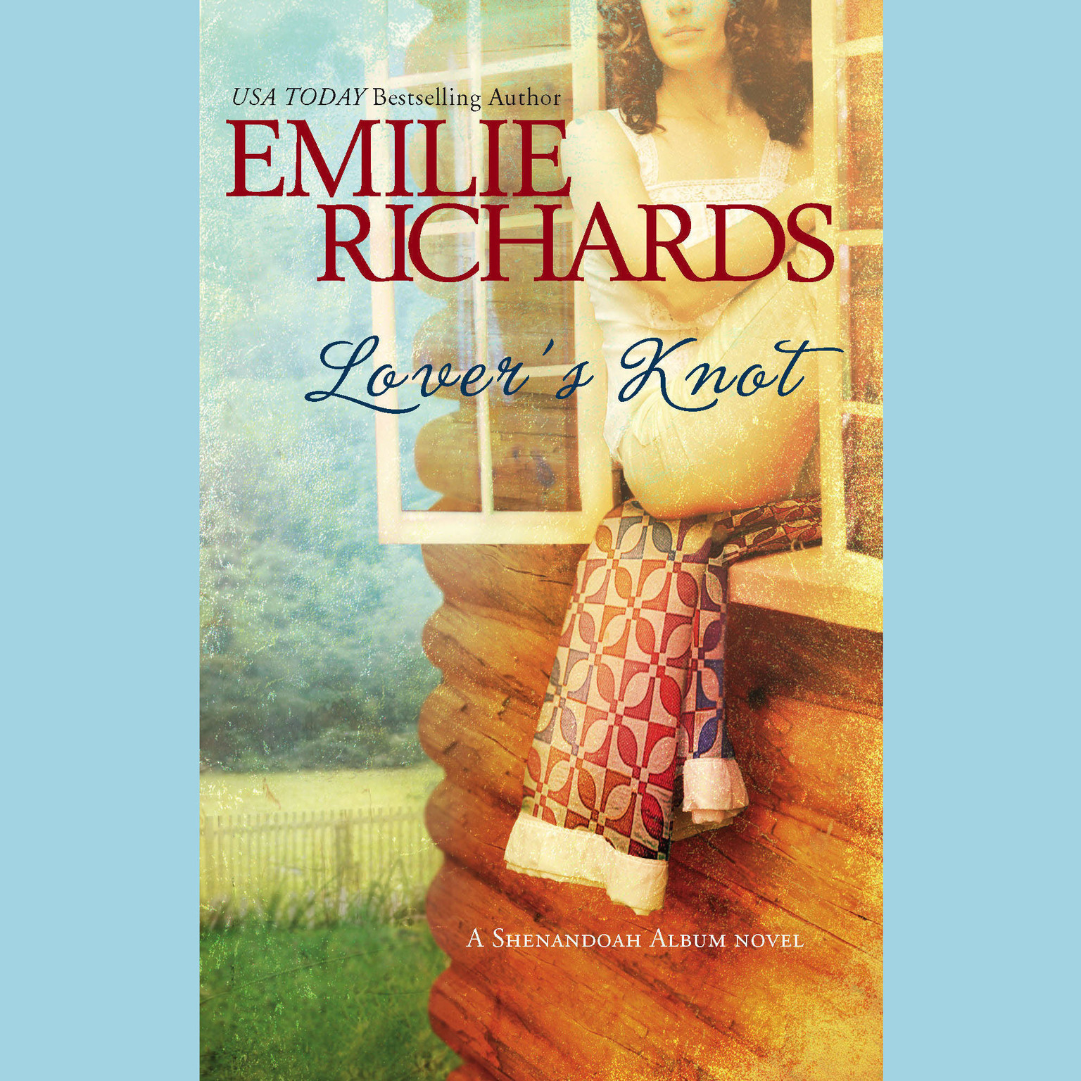 Printable Lover's Knot Audiobook Cover Art
