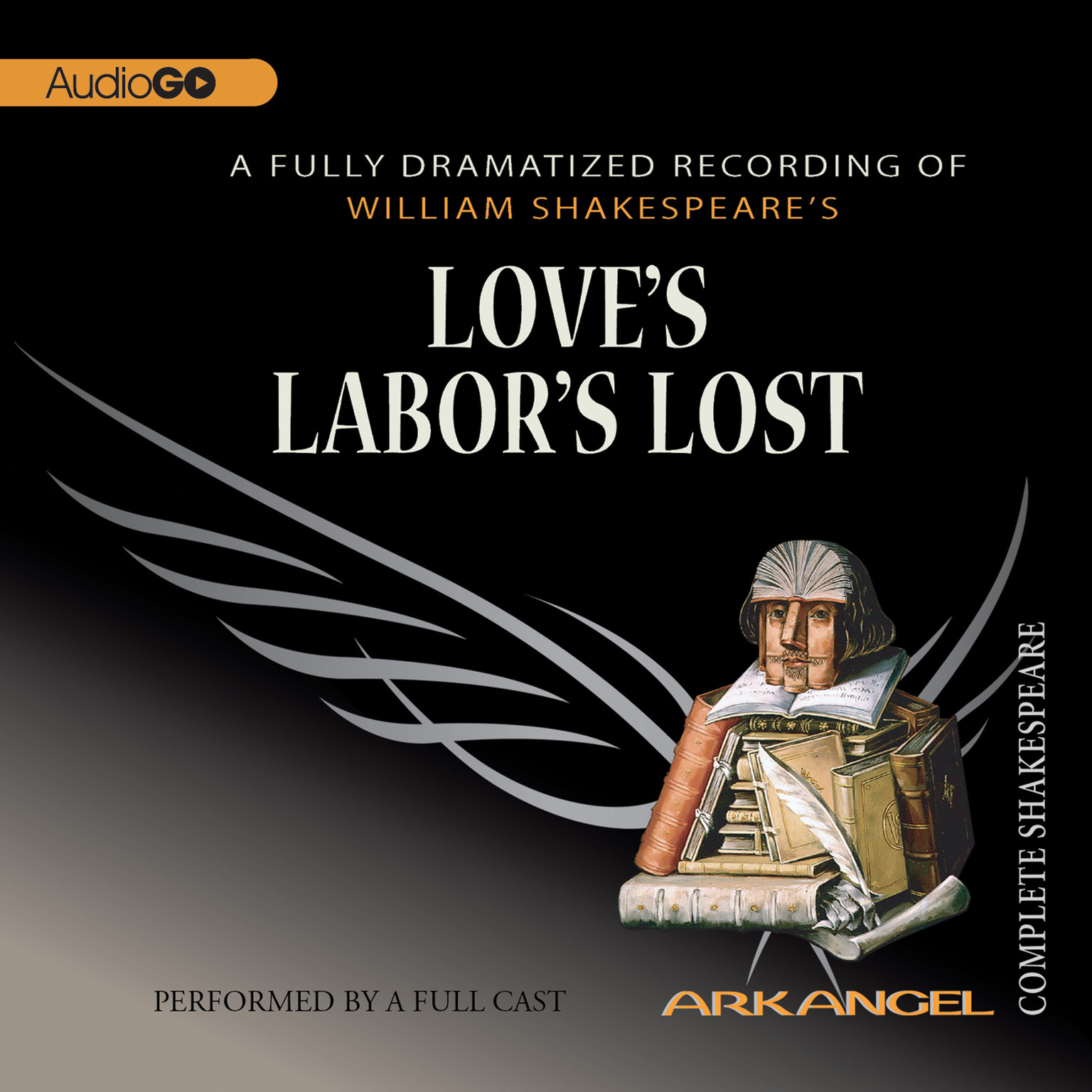 Printable Love's Labor's Lost Audiobook Cover Art